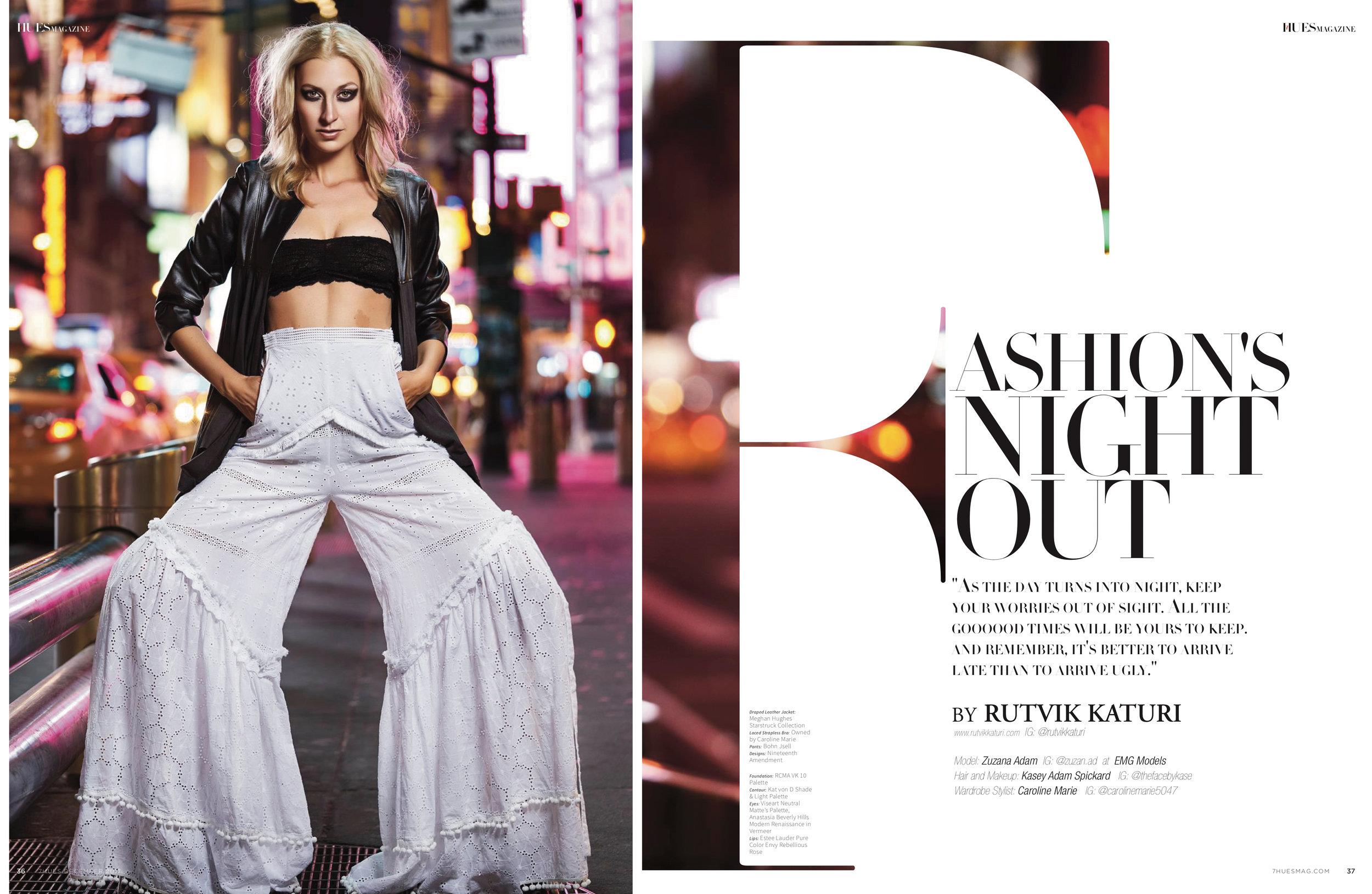 7 Hues Magazine Editorial