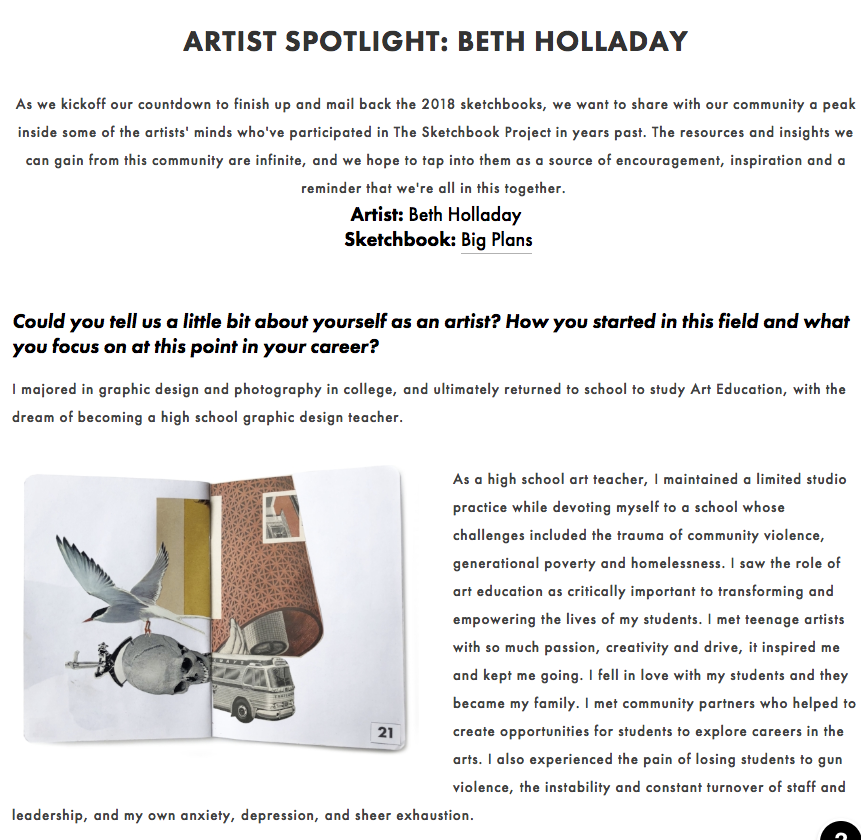 Interview withBrooklyn Art Library - Read more