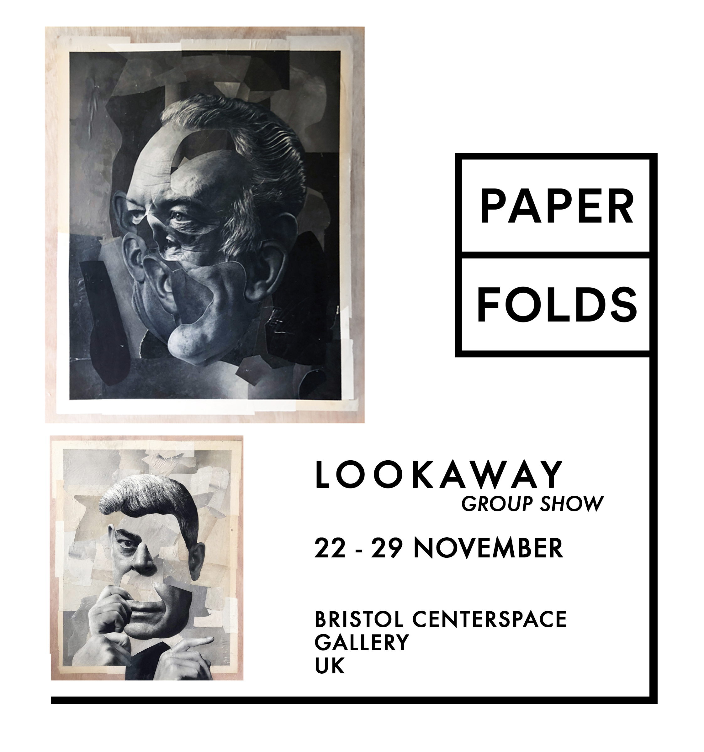 International Group Show - Six of Beth's original collages are included in a group show in Bristol, UK. Curated by Nick at PaperFolds, this thoughtfully designed show features a variety of pieces from artists all over the world.
