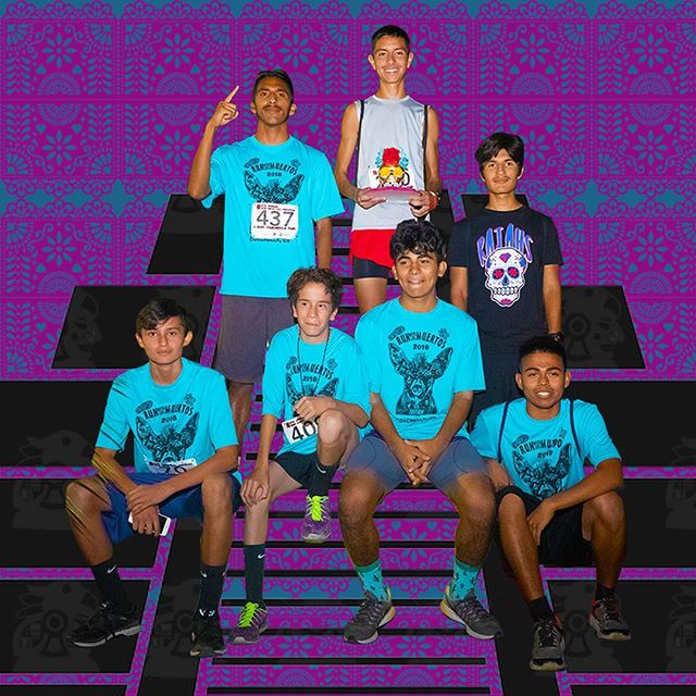 Are you ready for seven?  #7 #seven #seventh #annual #runwithlosmuertos #coachella #nightrun #diadelosmuertos #comefortherunstayforthefun #weseeyou #squad #winners #podium #getyourtrophy #indio #indiohighschool #runfast #winnerwinnerchickendinner #fitness #runlikethewind #running #nightrunners #itwasanightjustliketonight