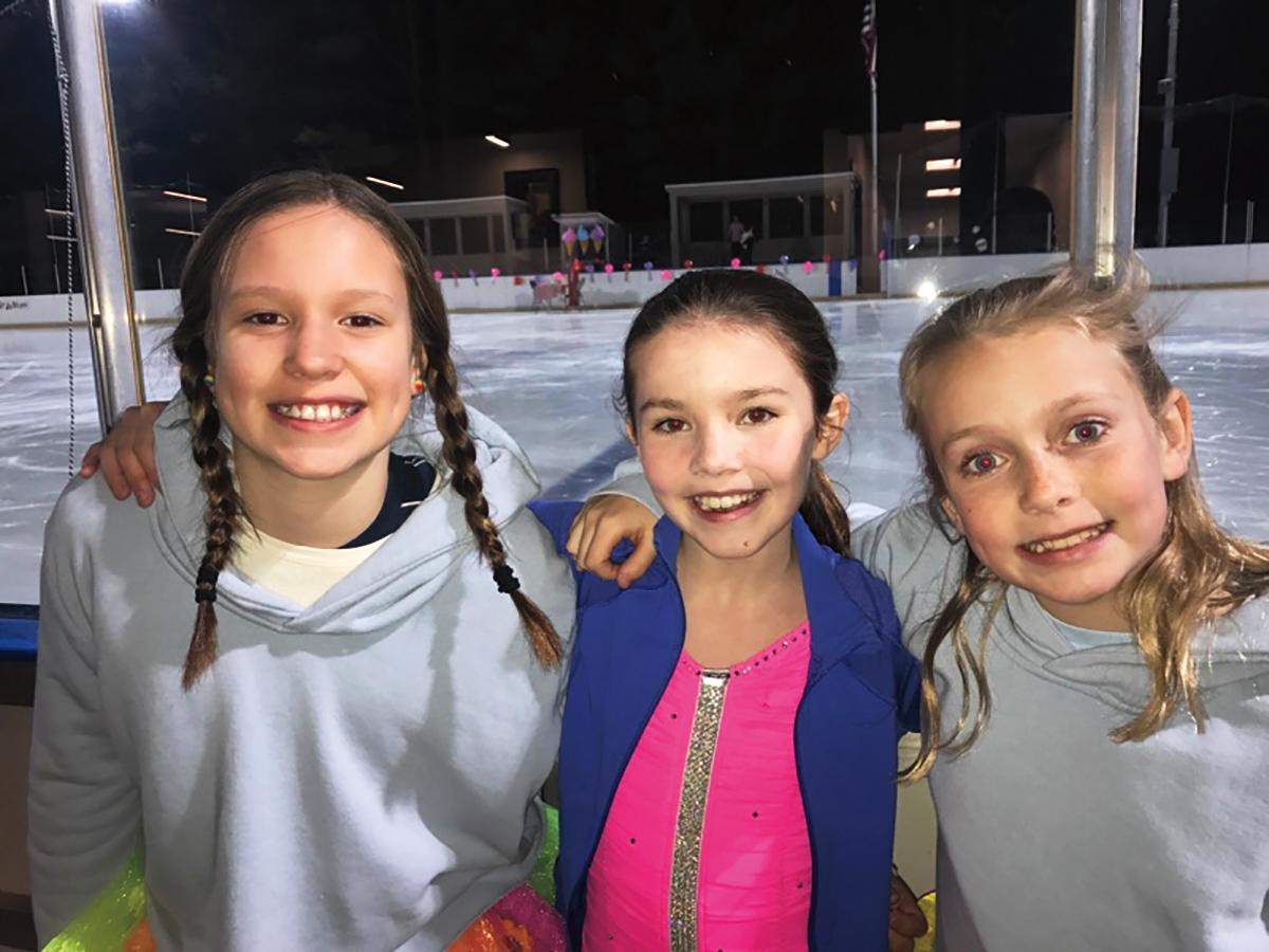 1983 Icy's daughter and skating crew.jpg