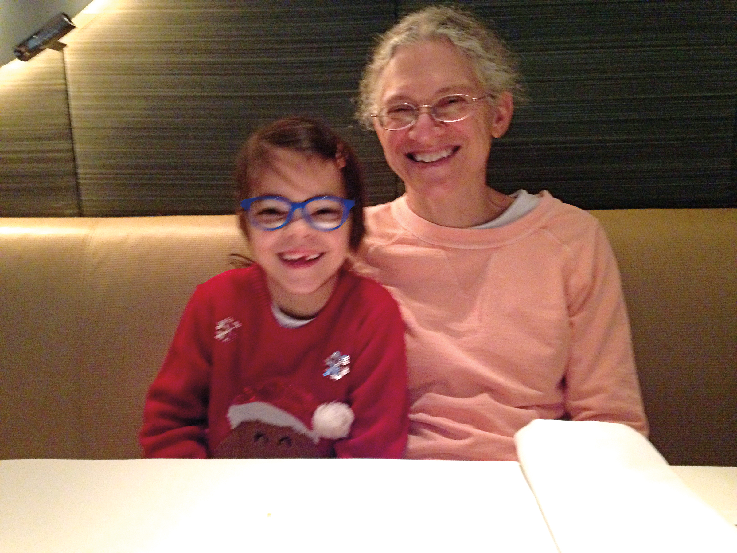 Jennifer White Callaghan '82 and her daughter, Meghan.