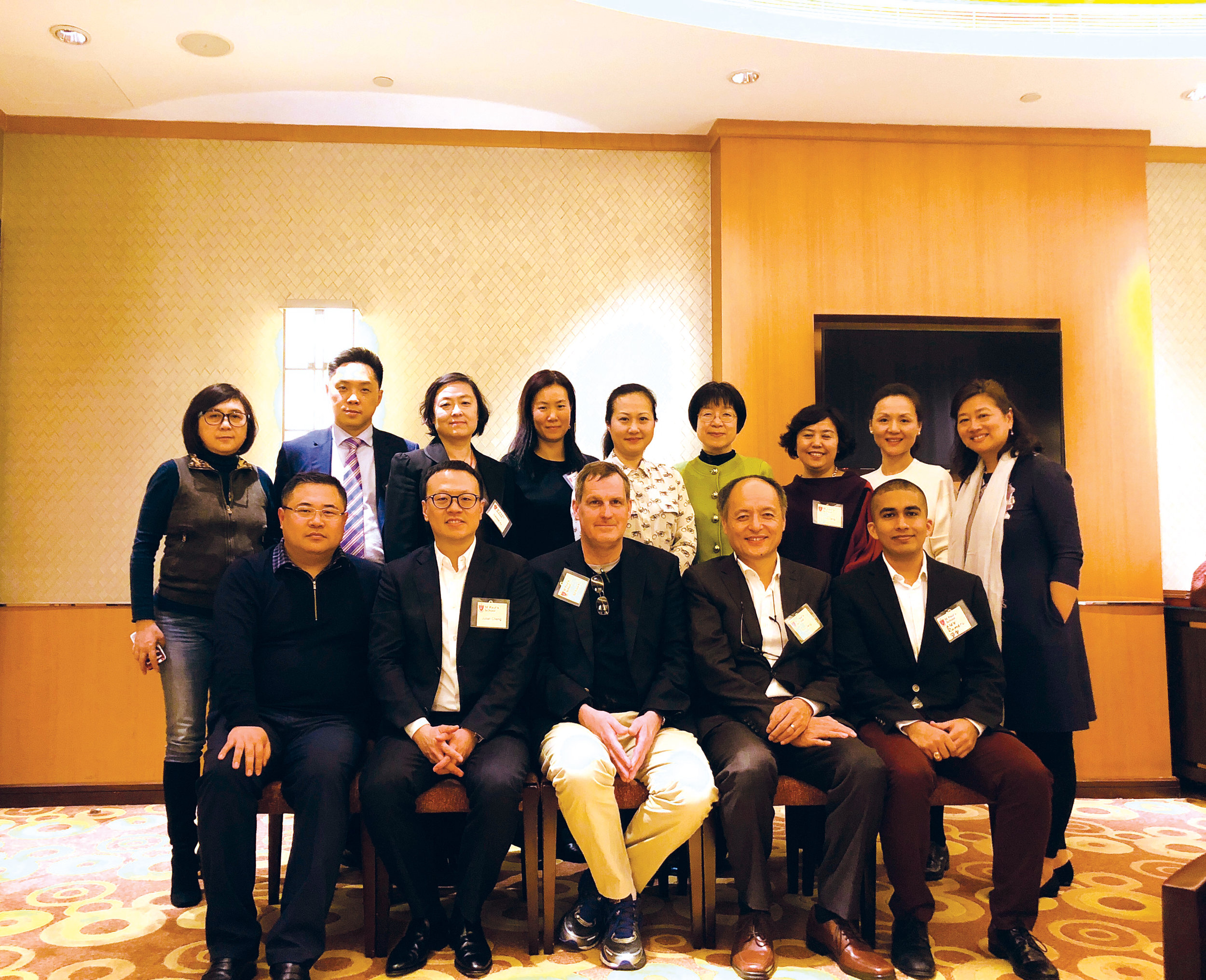 Julian Cheng '92 helped kick off the SPS Asia tour by hosting an alumni and parent reception on March 5, 2018, at the Beijing Hong Kong Jockey Club.