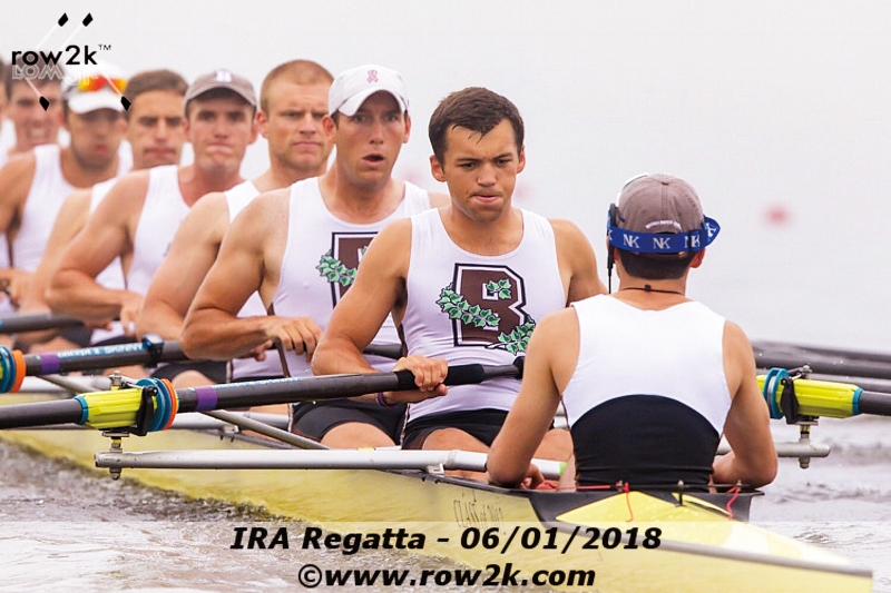 Gus Hirschfeld '17 competed at the IRA National Championships for Brown this spring.