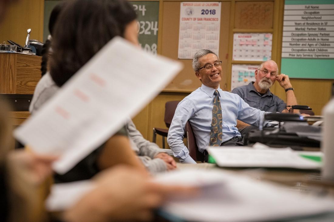 Judge Chan has overseen YAC since its inception in 2015. PHOTO | Robert Gumpert