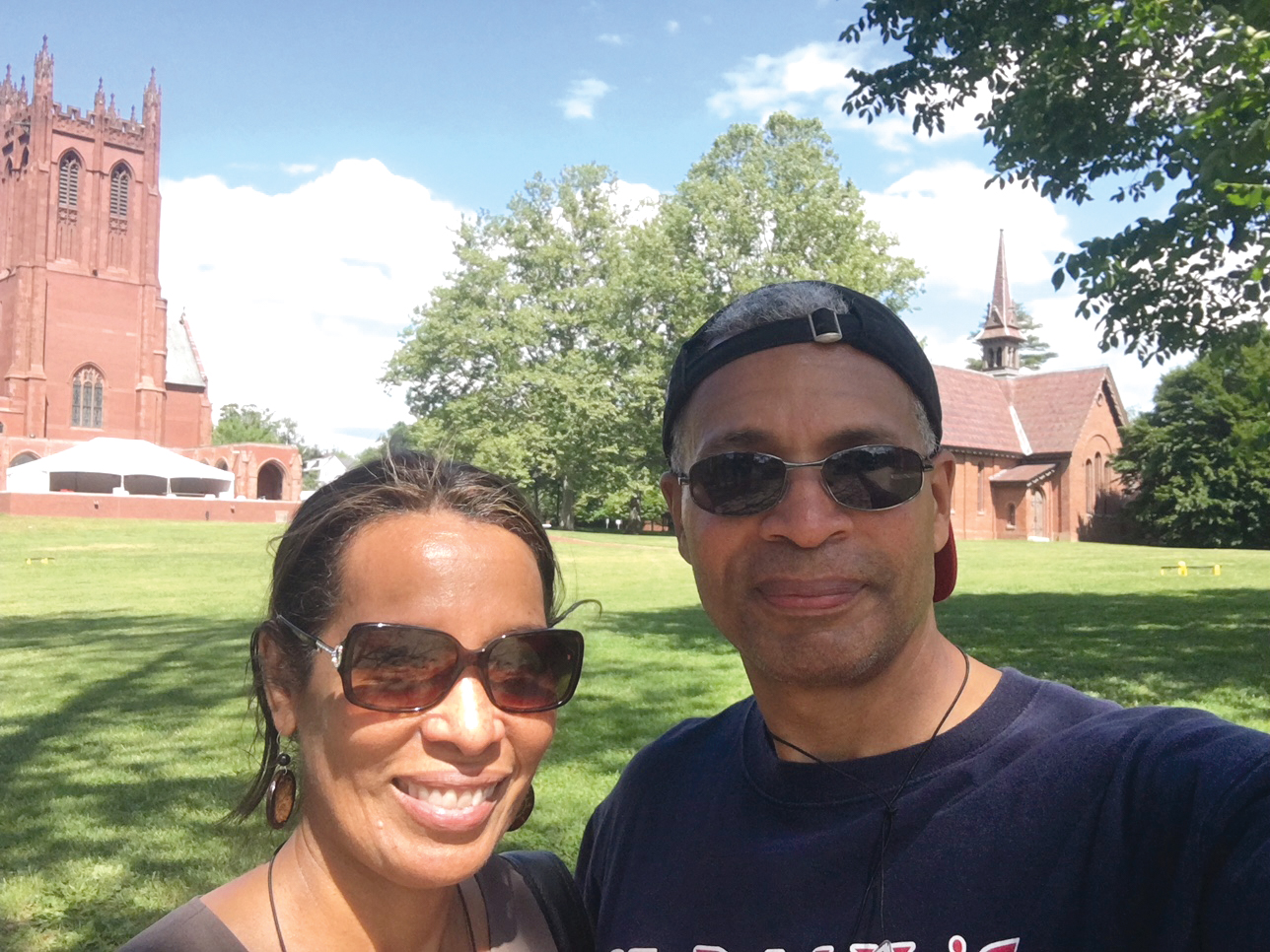 Isabel Nieves Salaman '78 returned for her 40th, accompanied by brother Severo Nieves, Jr. '76.