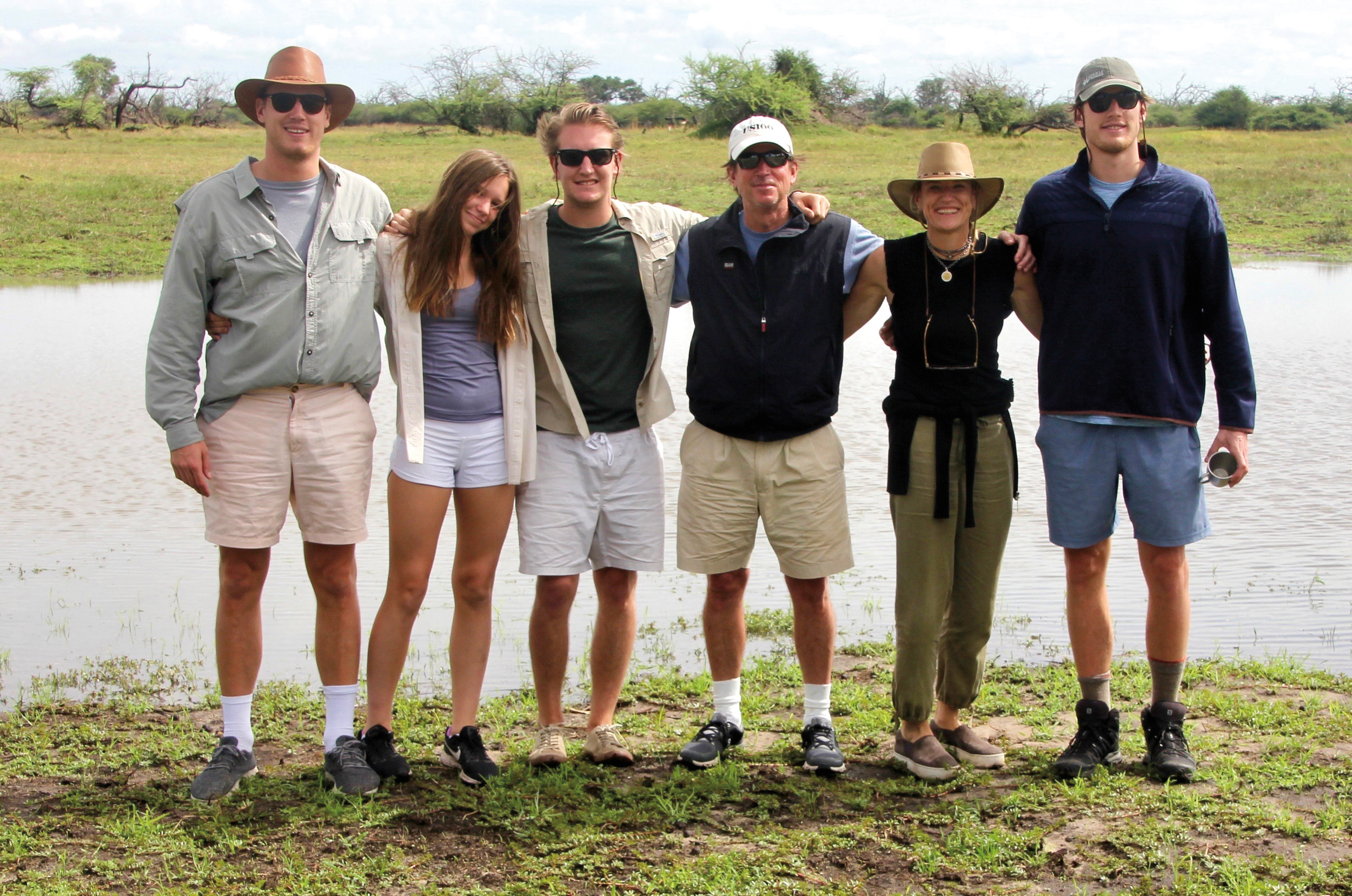 Allison Icy Frantz '83 celebrated her 25th wedding anniversary in South Africa and Botswana with her family.