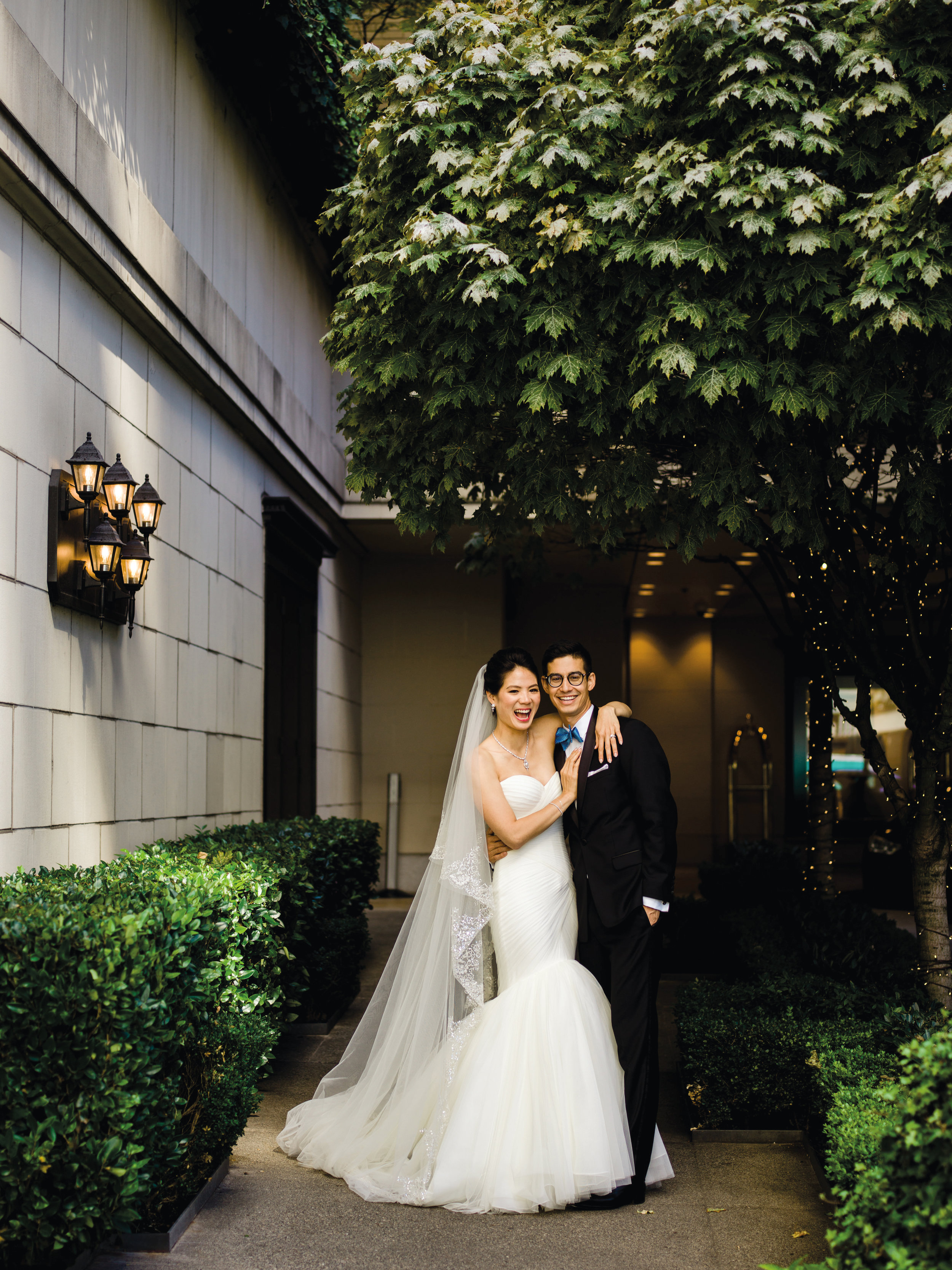 Tiffany Yu '03 married Kevin McFarland in September 2018.