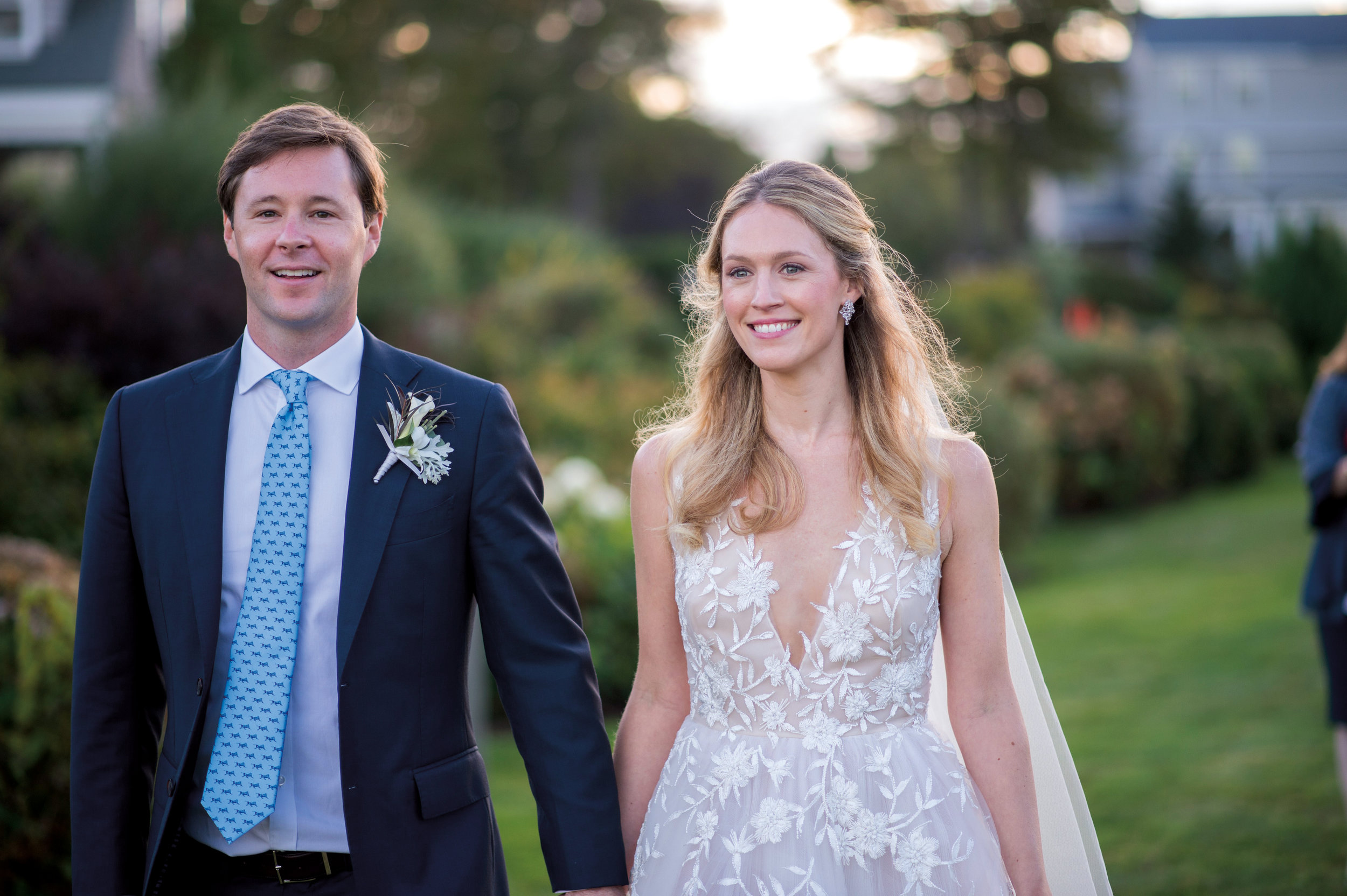 Daphne Grayson '06 married Keith Funston in Prouts Neck, Maine.