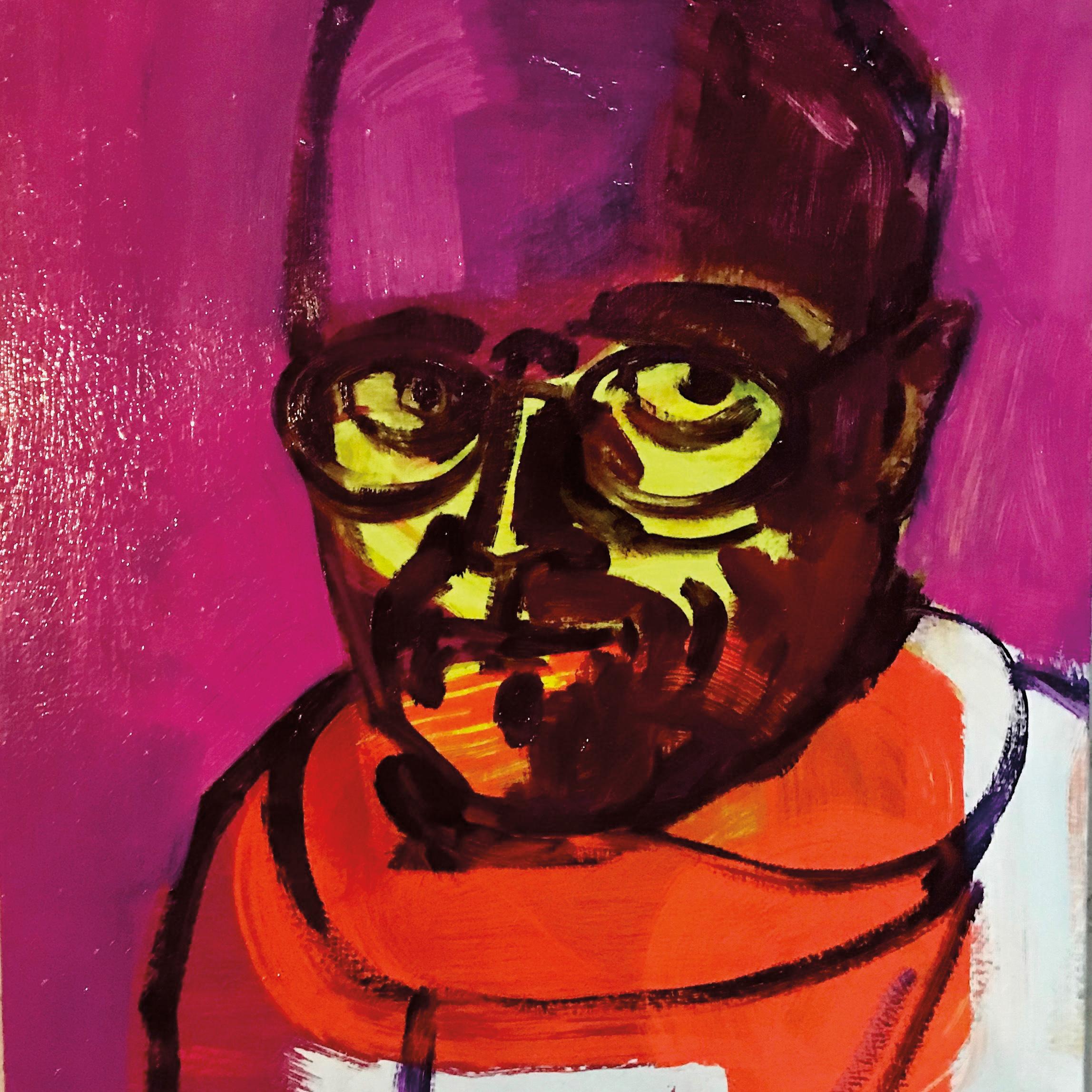 A self-portrait by Jeffrey Keith '72.