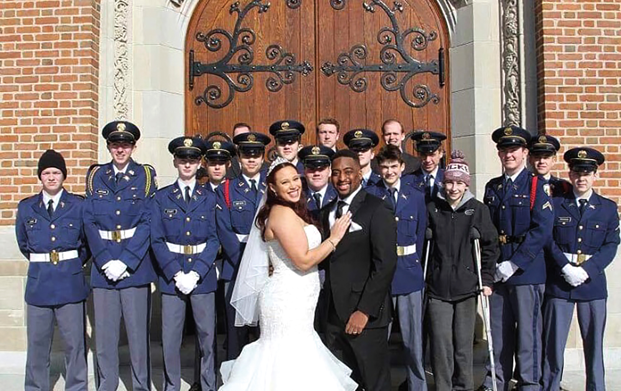 Jacci (Cousins) Plaisir '10 married Paul Plaisir '11 in Culver, Ind.