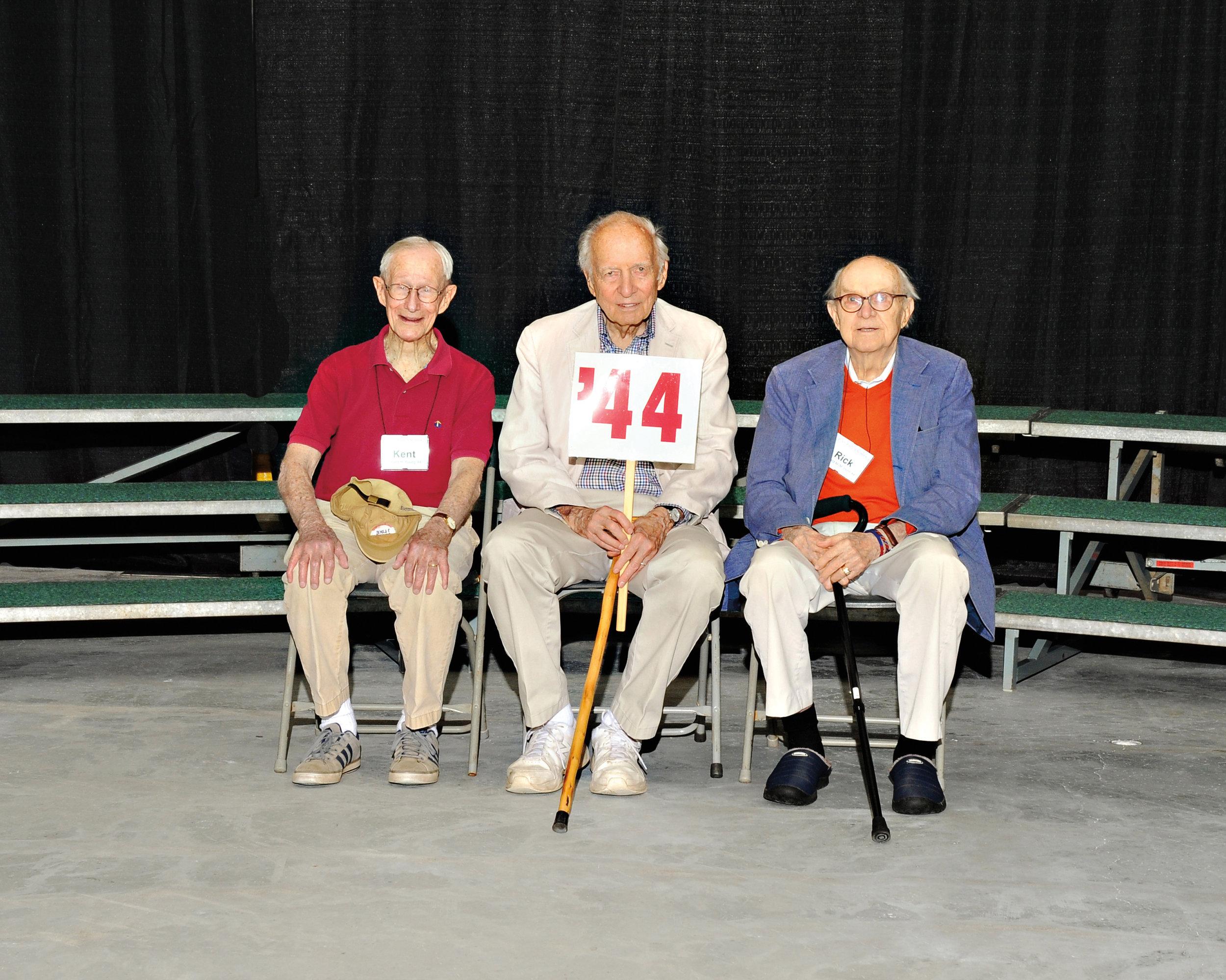 (L. to r.): Kent Young, Bob Read, and Rick Hunt.