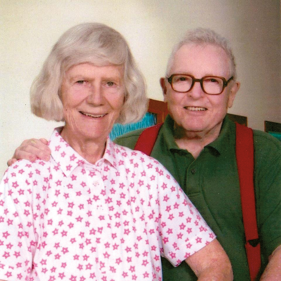 Ross Whitsler '44 with his wife, Vera.