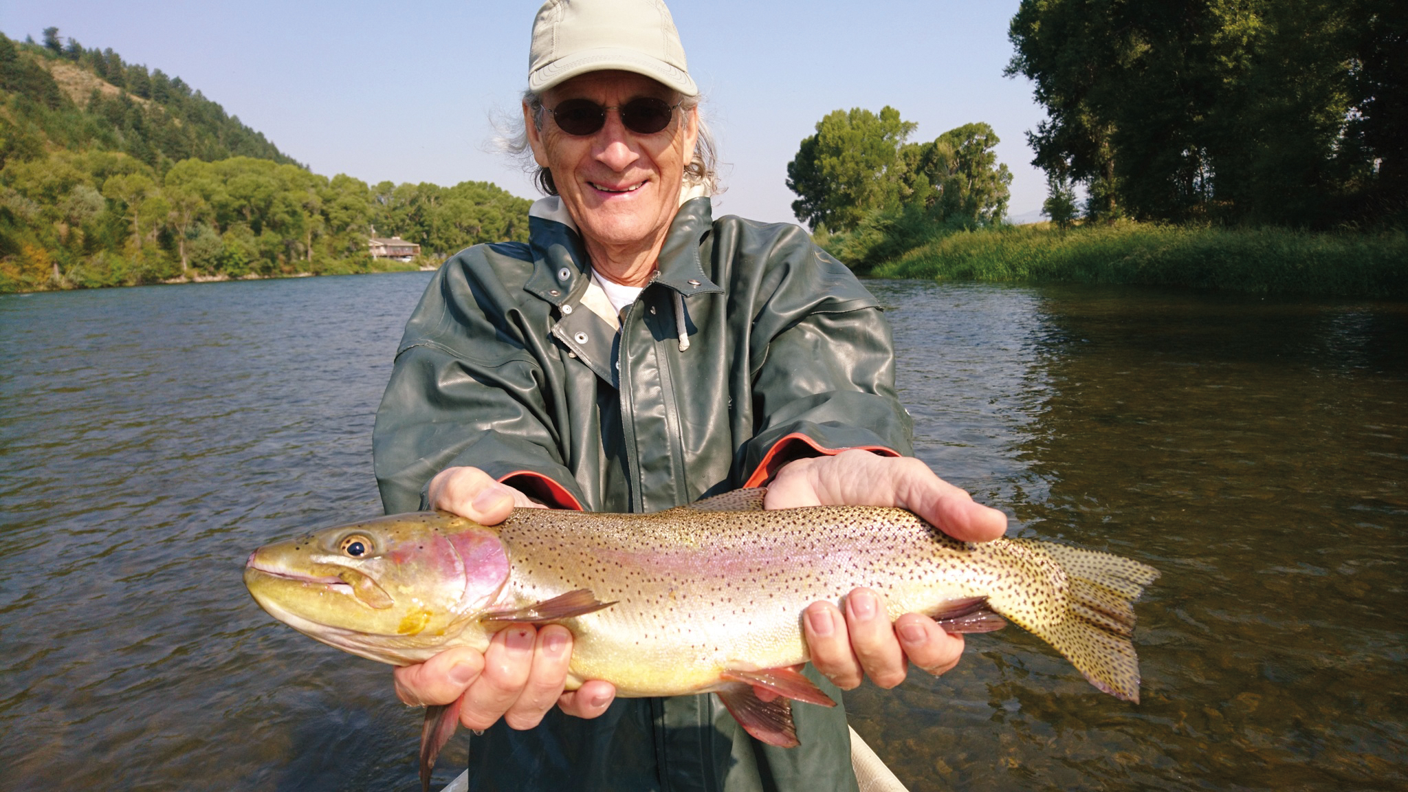 Peter de Bretteville '59 had lots of success on a fly-fishing trip to Idaho with his grandson.
