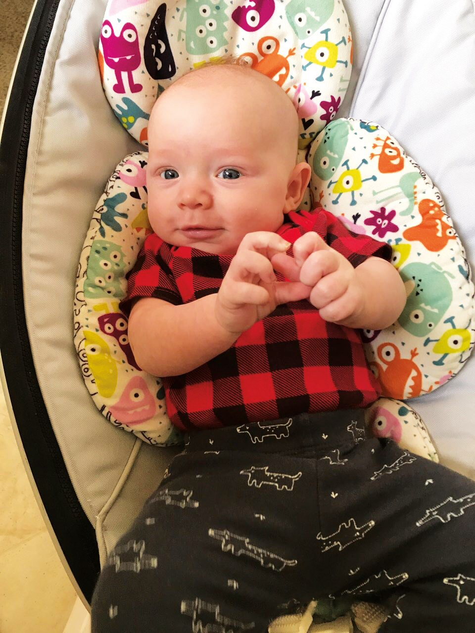 Raphael, son of Aidan Tait '04, was born in February 2019.