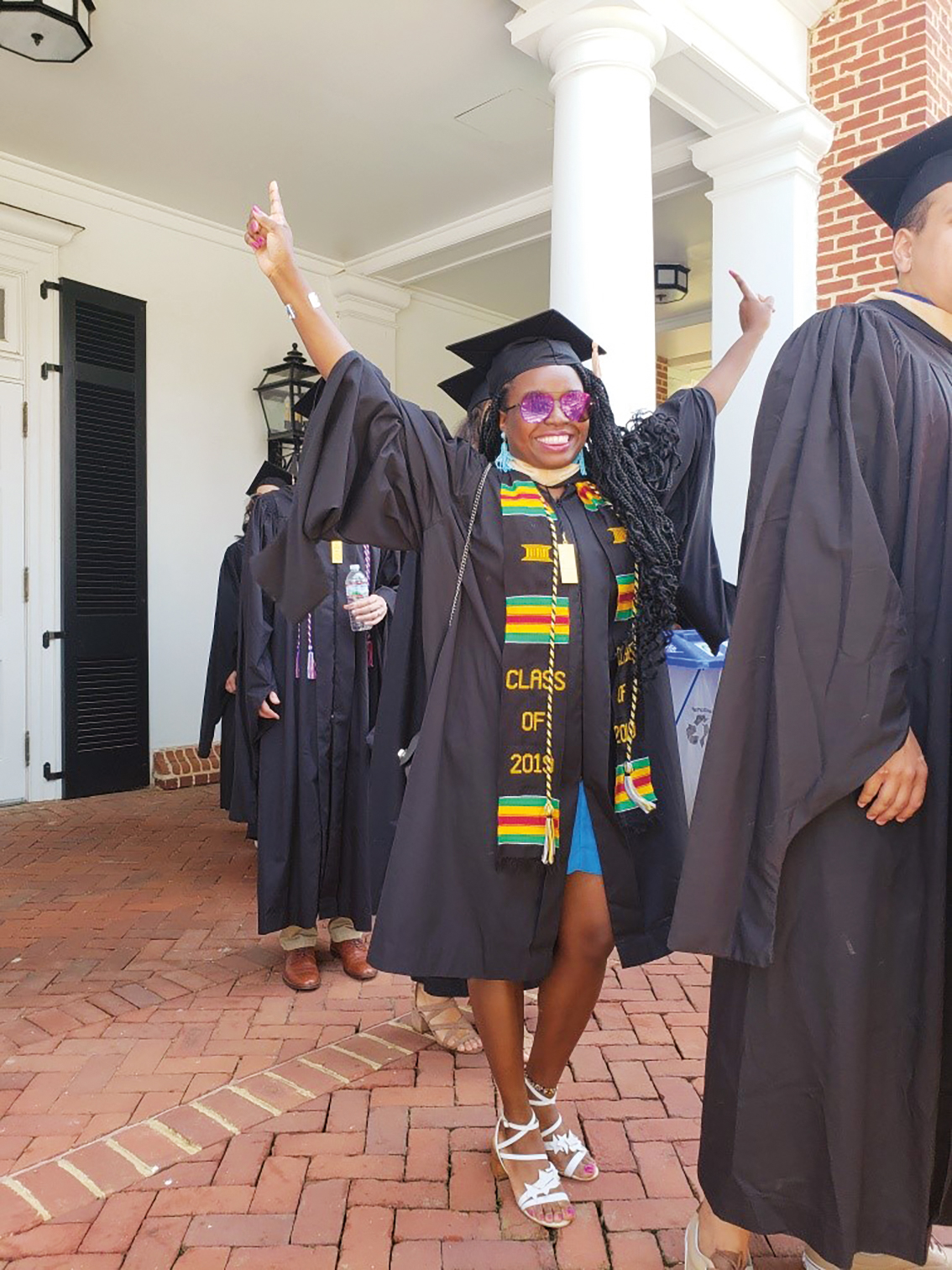 Cecily Sackey '08 graduated with her M.B.A. from UVA's Darden School of Business.