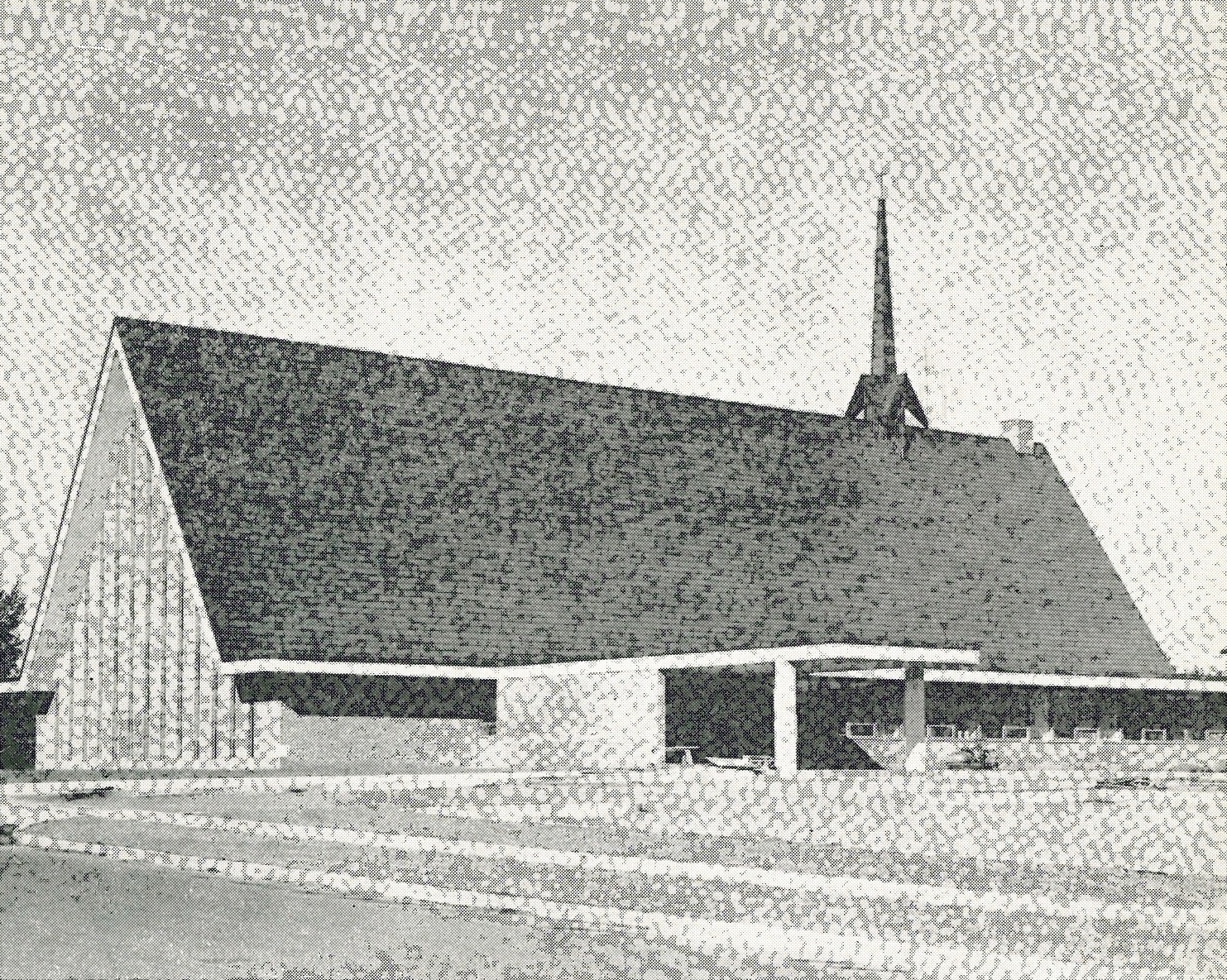 First Presbyterian Church  at South West Avenue and West 31st Street, 1958.