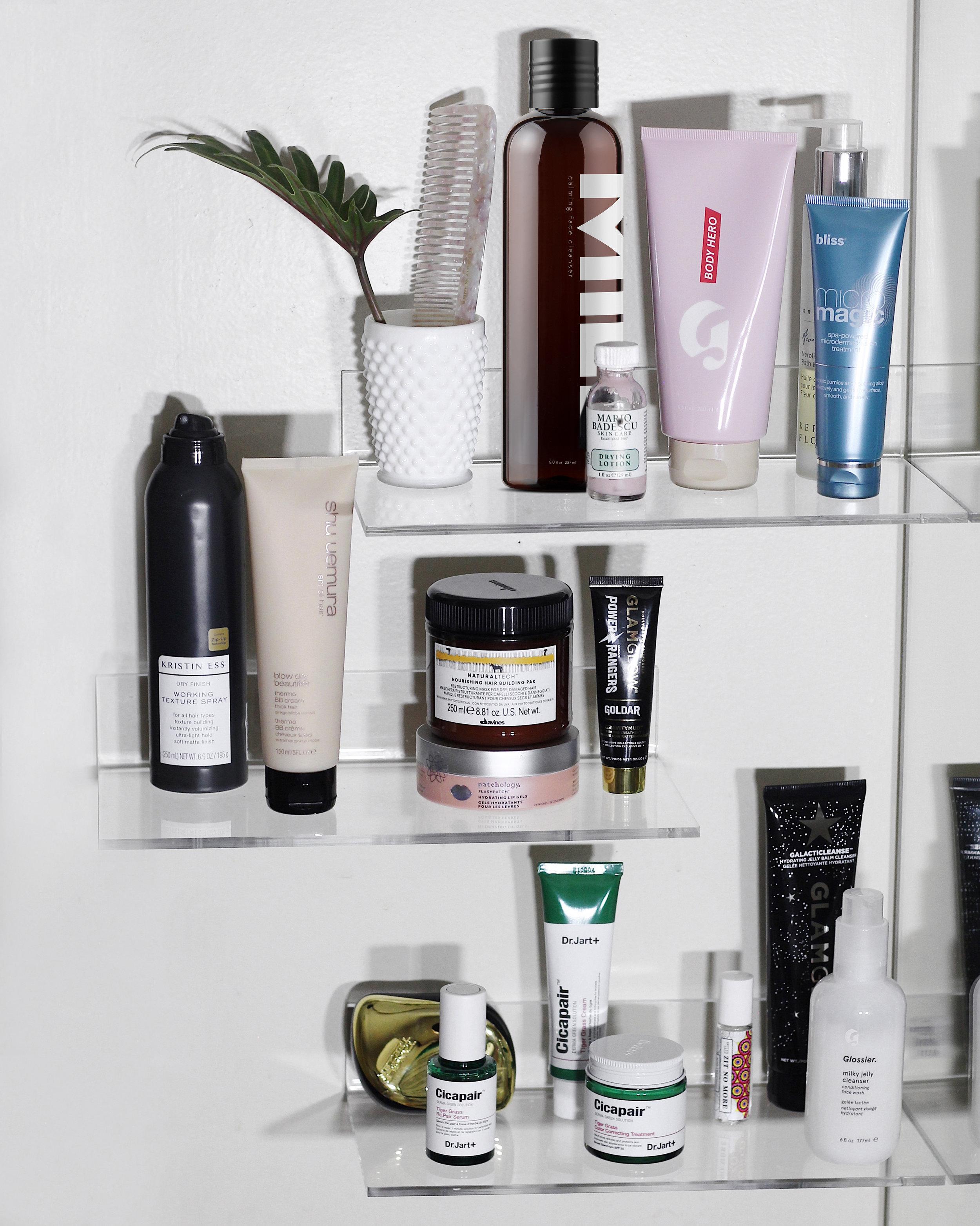 Into-The-Gloss-Top-Shelfie-Mario-Badescu-Glossier-Kerstin-Florian-GLAMGLOW-Dr.-Jart-Shu-Uemura-Davines-Show-Beauty-Kristin-Ess-Hair-Patchology-Eternally-in-Amber-Review.jpg