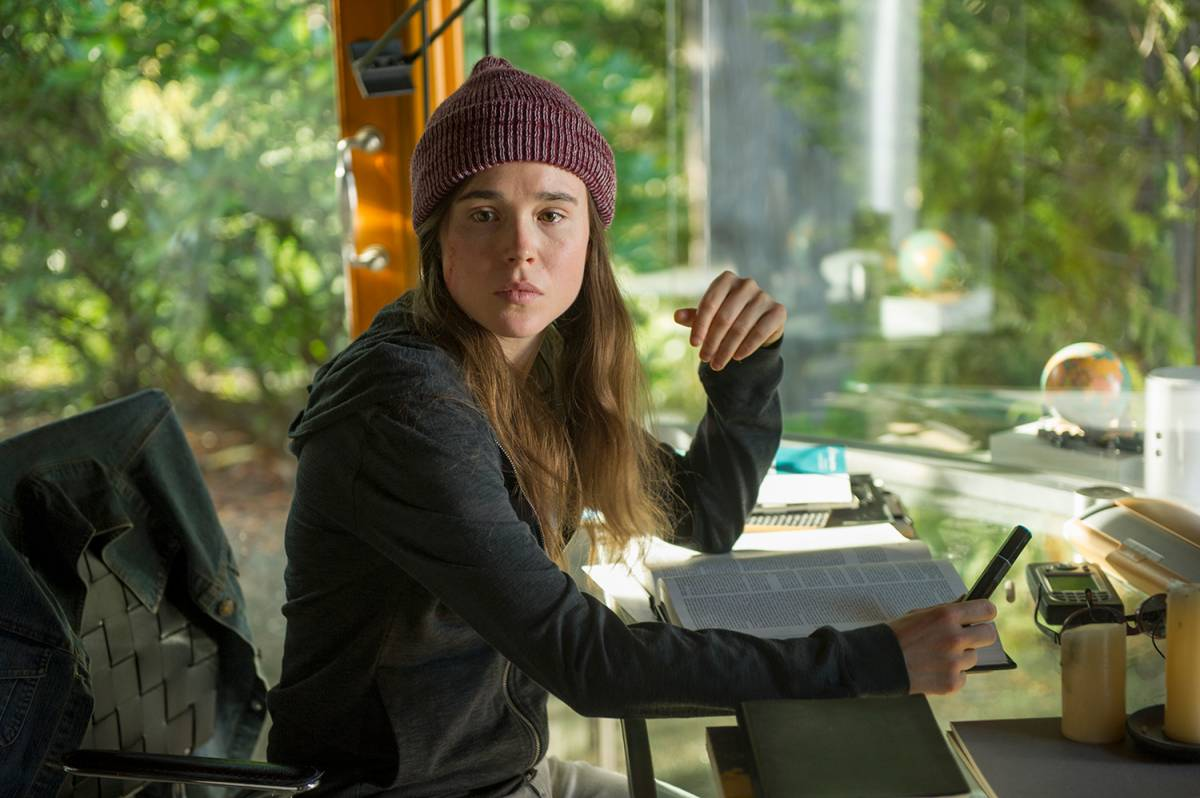 "Ellen Page in ""Into the Forest"", by director Patricia Rozema"