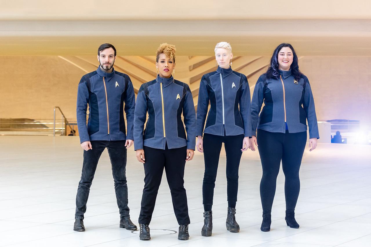 Star Trek: Discovery photoshoot for Volante Design