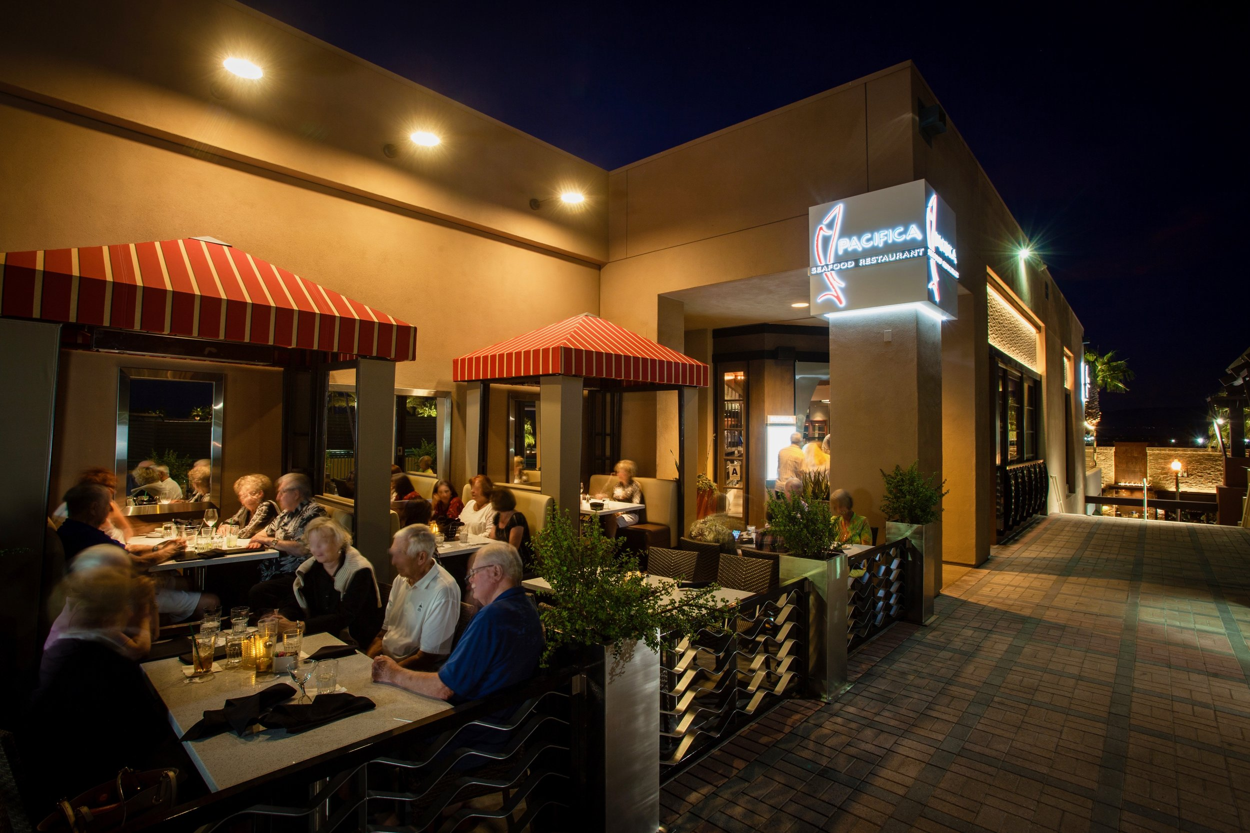 Pacifica Seafood Outdoor Patio
