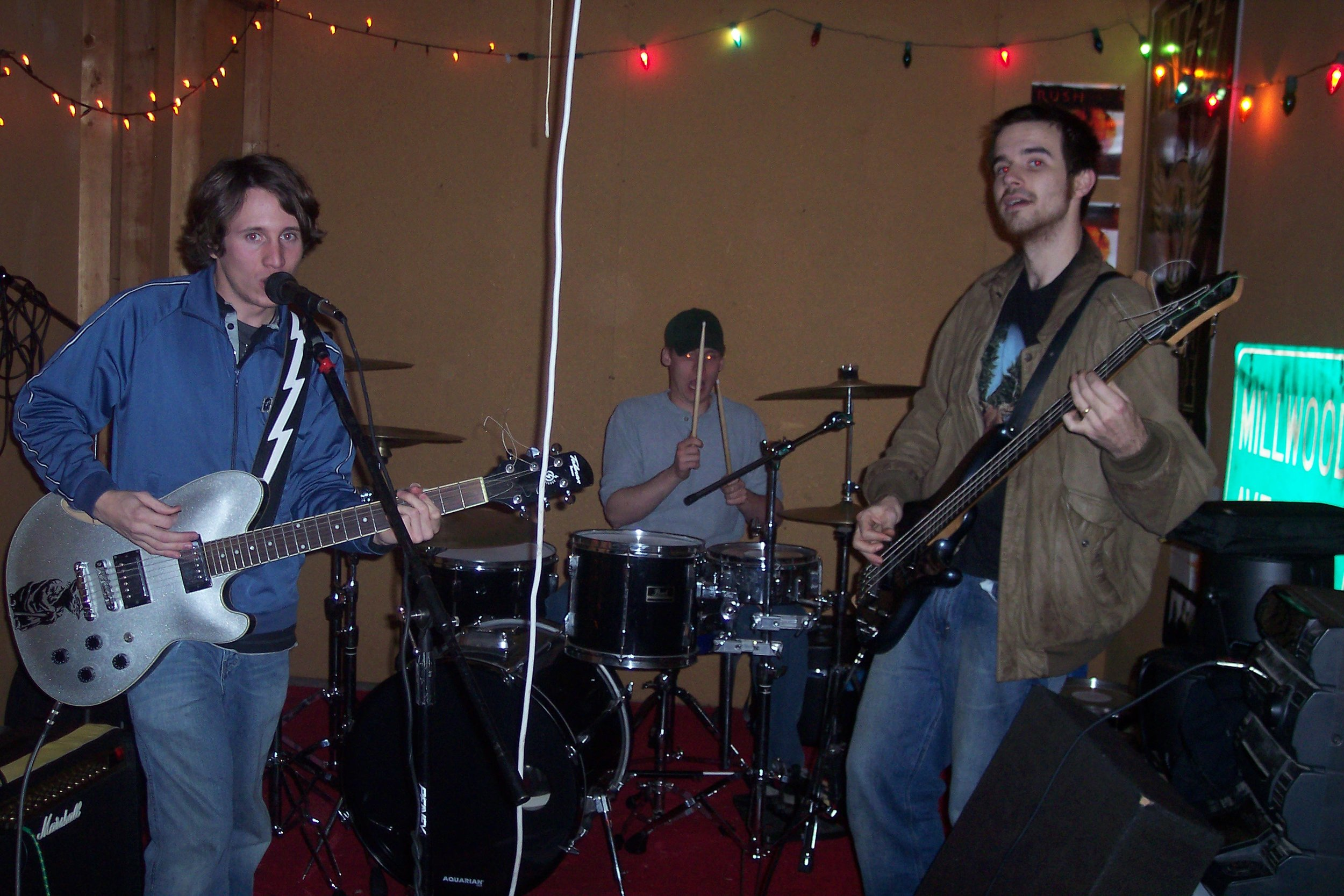 Guitar Show : myself, Bill Elliott, Adam Corbett (2005)