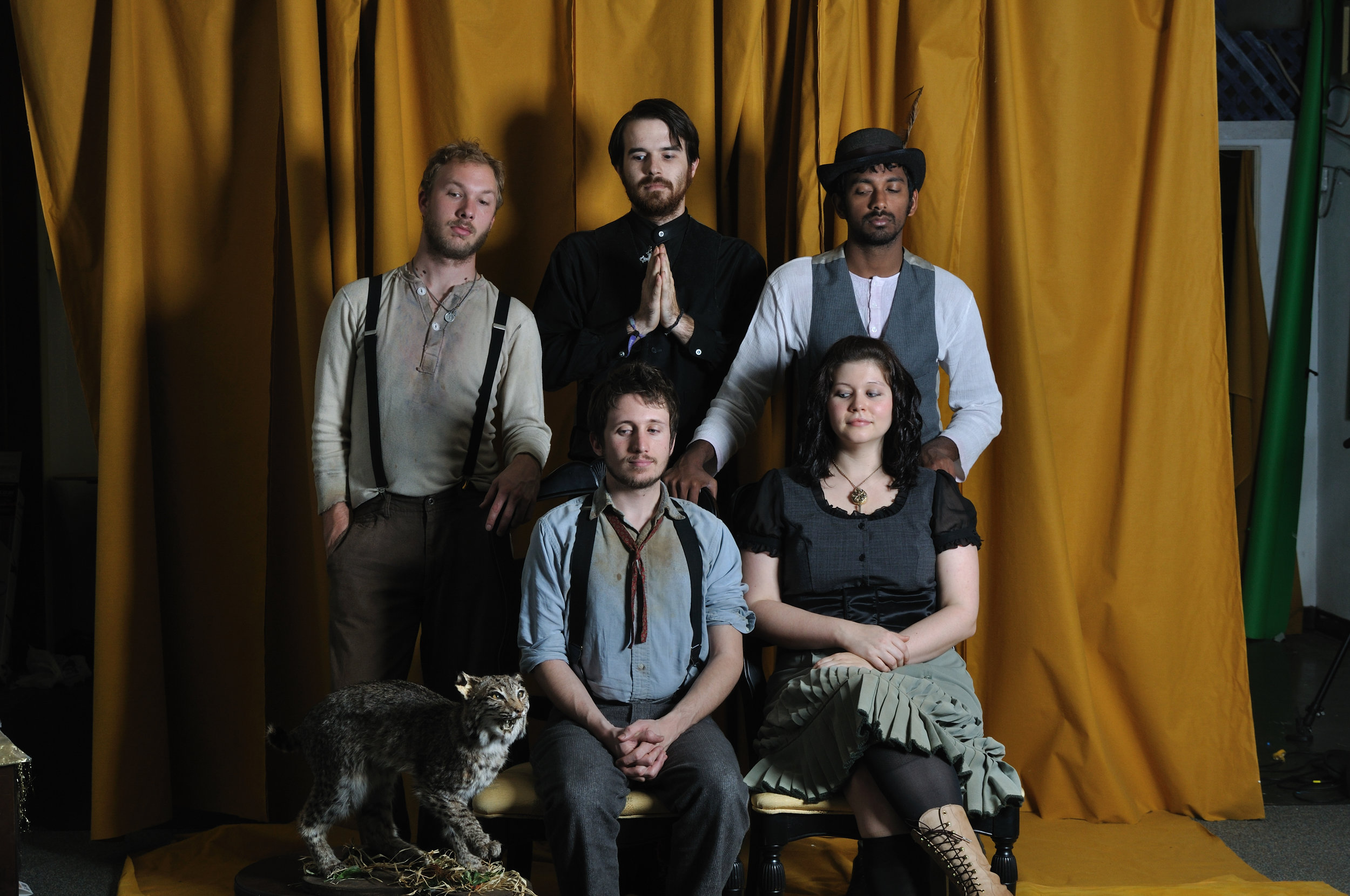 The Restoration : Eddie Lord, Adam Corbett, Sharon Gnanashekar, myself and Lauren Garner   (M. West, 2009)