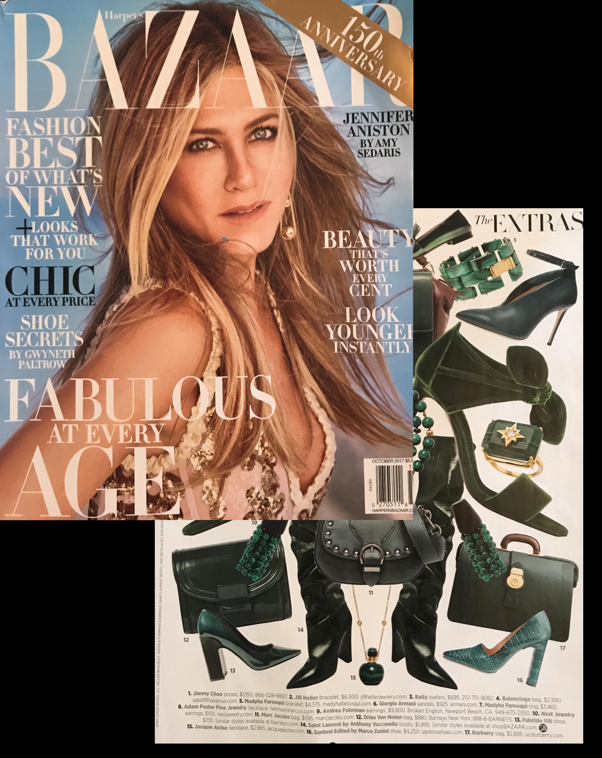 Harper's Bazaar , Oct 2017