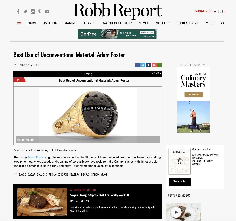Robb Report  , June 2018