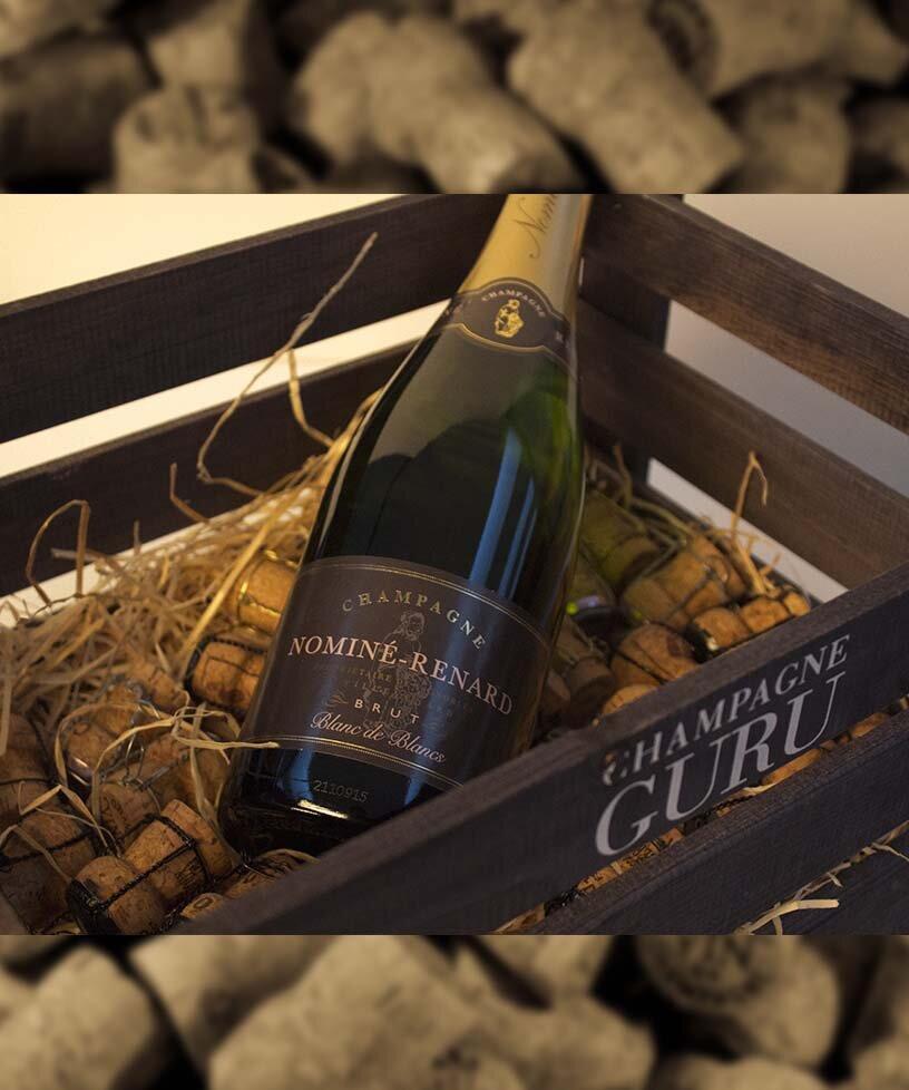 BRUT RESERVÉ - Blanc De BlancDrue: 100% ChardonnayTerroir: Villevenard - Etoges - Cote de SézanneBlanding: 65% 2012 - 35% ReservéVinificering: ståltanke - malolaktisk gæringLaring: minimum 4 års lagring på flaske (på bærmen)Dossage: 9 g/LFlaske: leveres i 0,75L