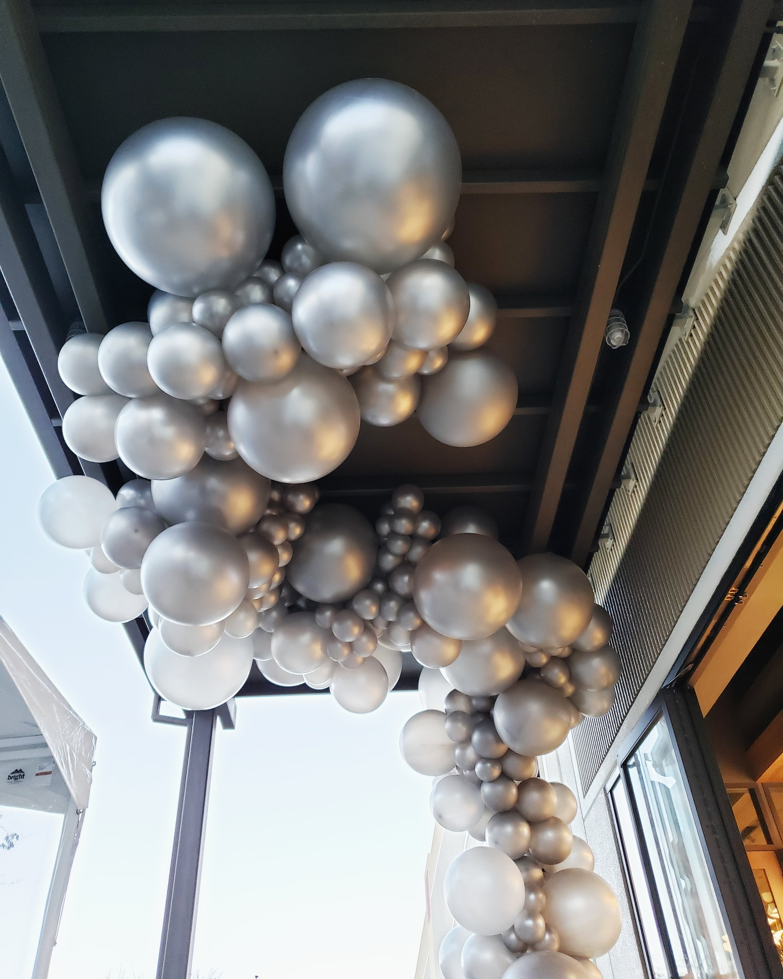 Silver Balloon Swag Cloud - Party Balloon Delivery SF.jpg