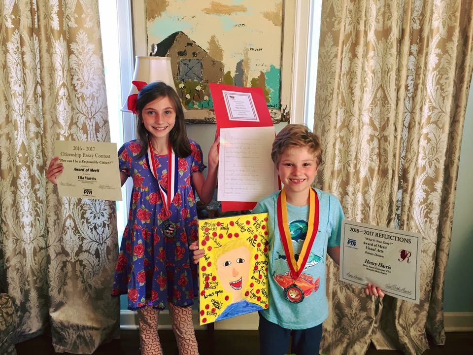 2016 Reflections and Citizenship Essay winners, Henry and Ella