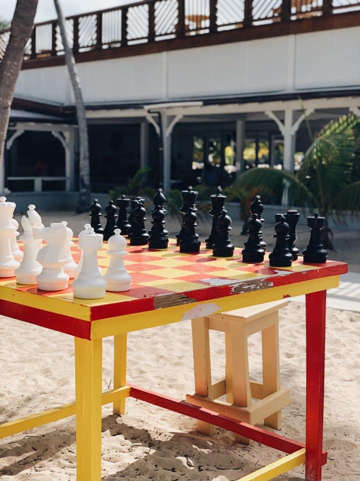 Chess on Blue Lagoon Island