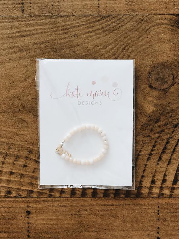 baby bracelet baby shower gift