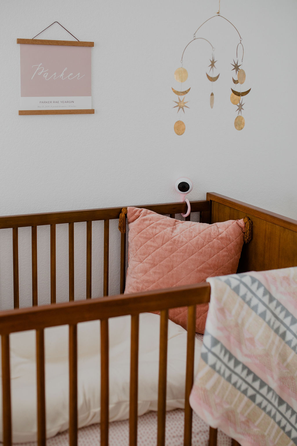 Mid Mod Girls Nursery