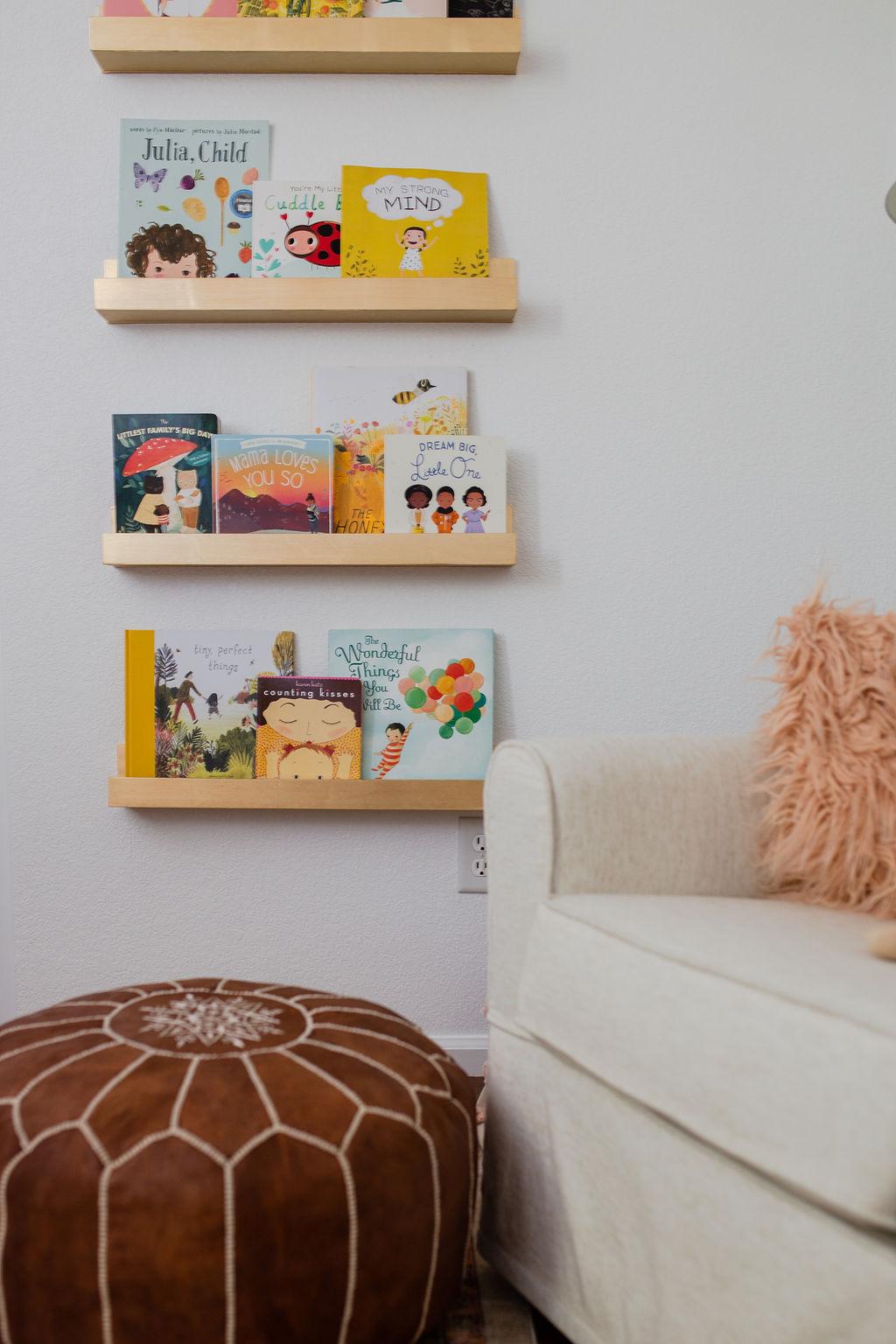 nursery book shelf ideas