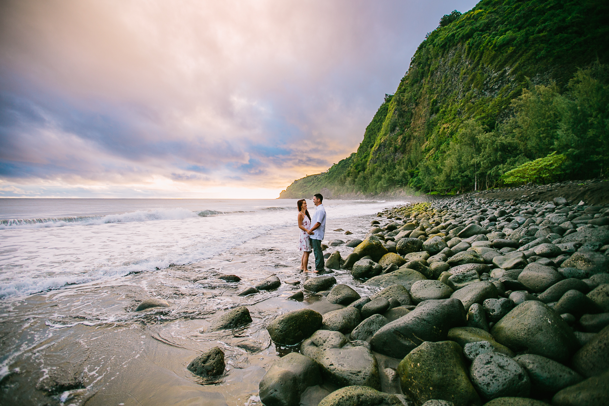 Hawaii Valley Engagement
