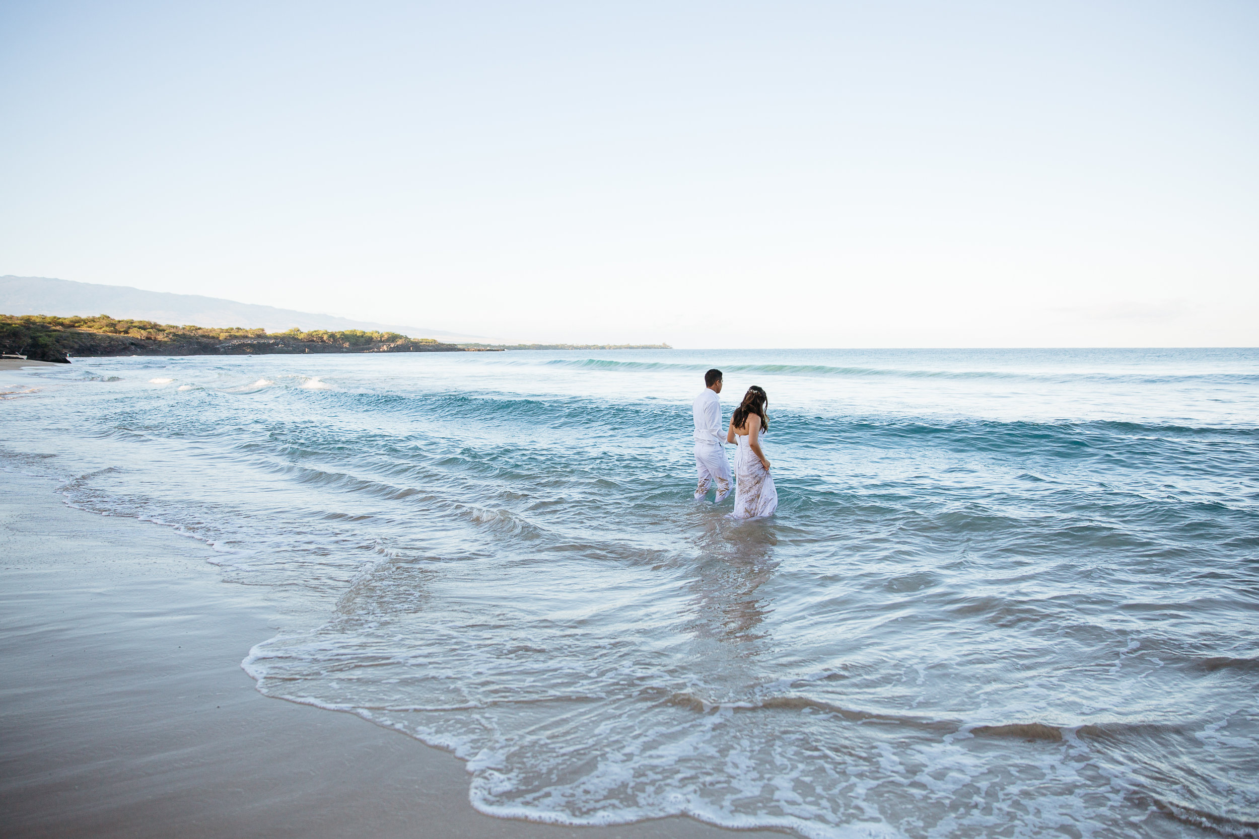 Sunrise Trash the Dress