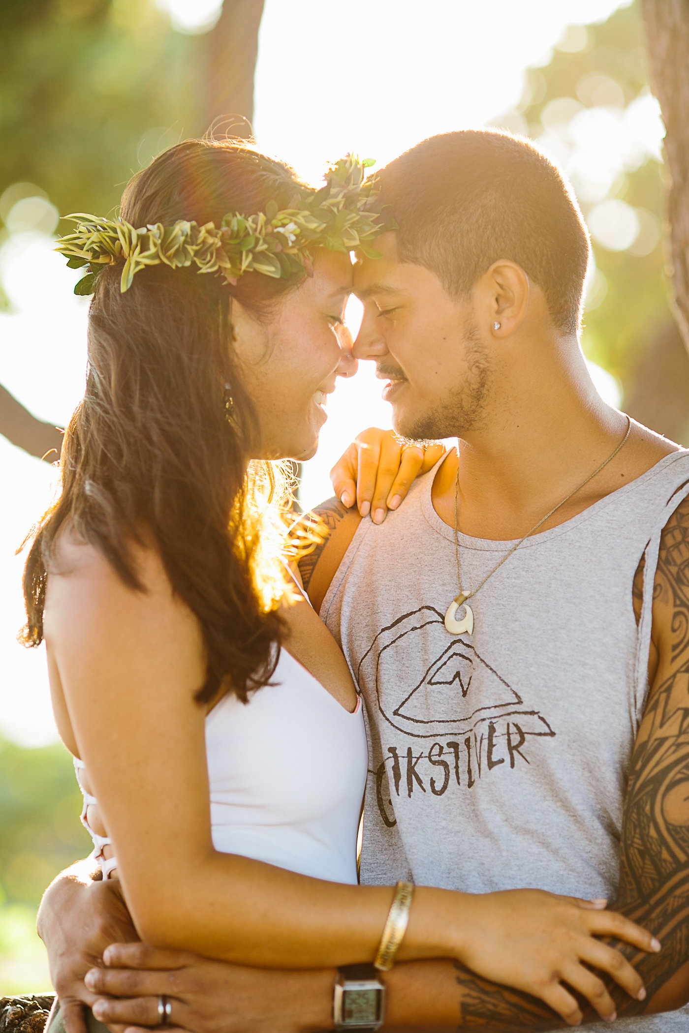 Kohanaiki Beach Engagement