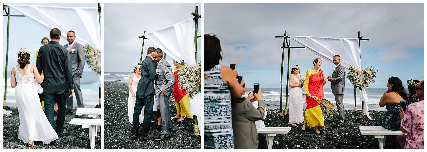 Kapoho Beach Wedding