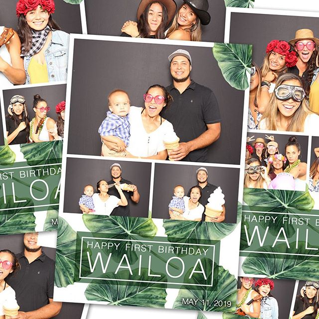 Happy First Birthday Wailoa!  Thank you for allowing us to celebrate with you all!