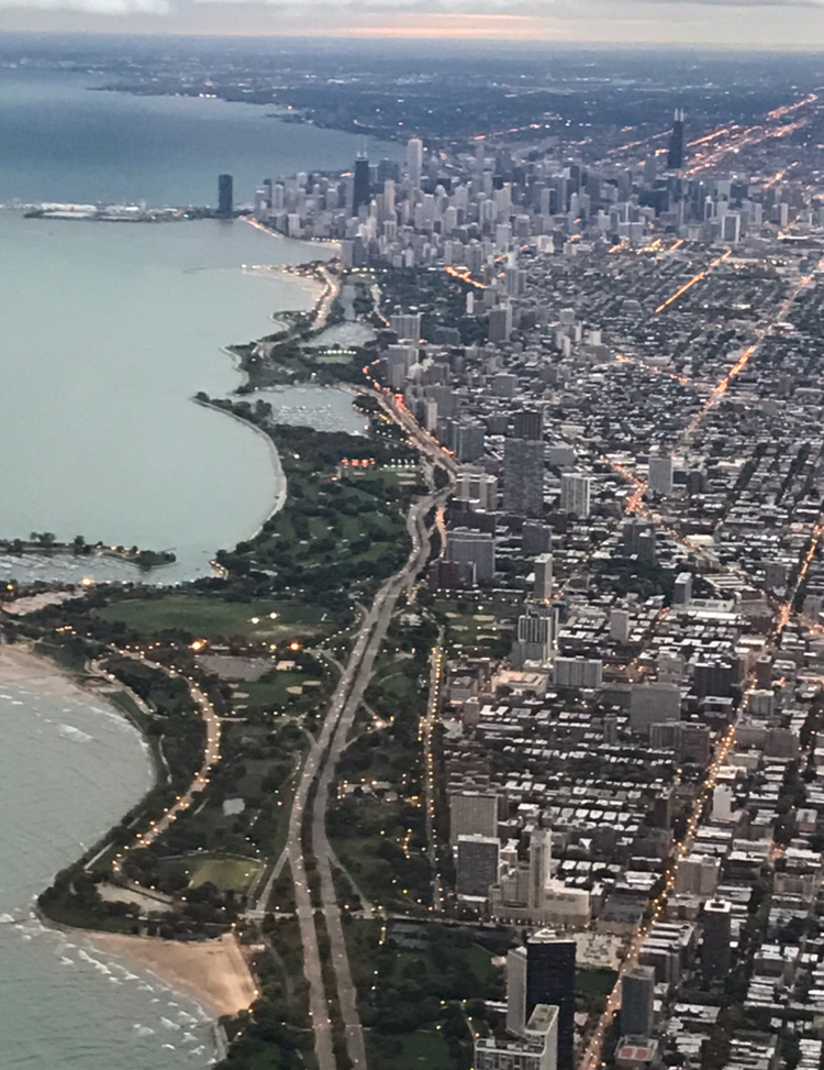 Photo credit: moi. On said flight ^ back to Chicago. I needed a place to post this, okay? This picture is validating to every person that lives in this incredible city.