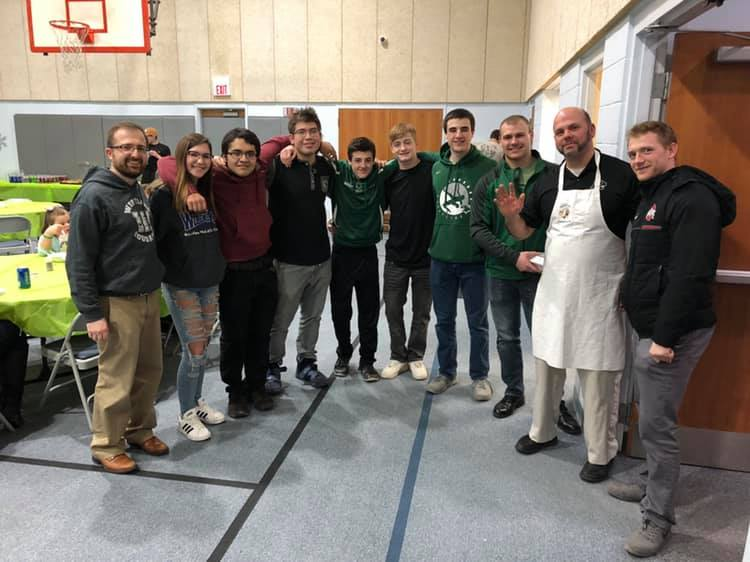 In February, a group of teachers, staff, students and I worked together to create the first Westland Spaghetti Dinner, which raised money for a new digital sign for the school!