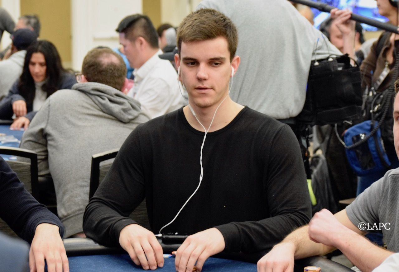 Andrew Wisdom - LAPC Event 37, $350 SHootout, and Event 54, $1,100 NLH - Winner