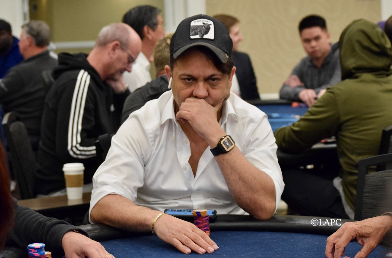 Sammy Teranie - LAPC Event 9, Great Wall of Chips - Winner