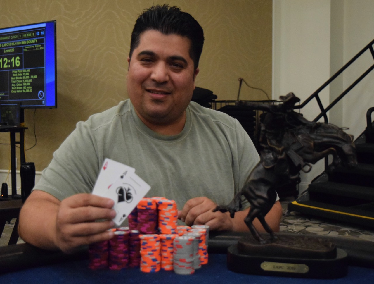 Nissir Quraishi - Event 11 - $120 All in or Fold - $3,340
