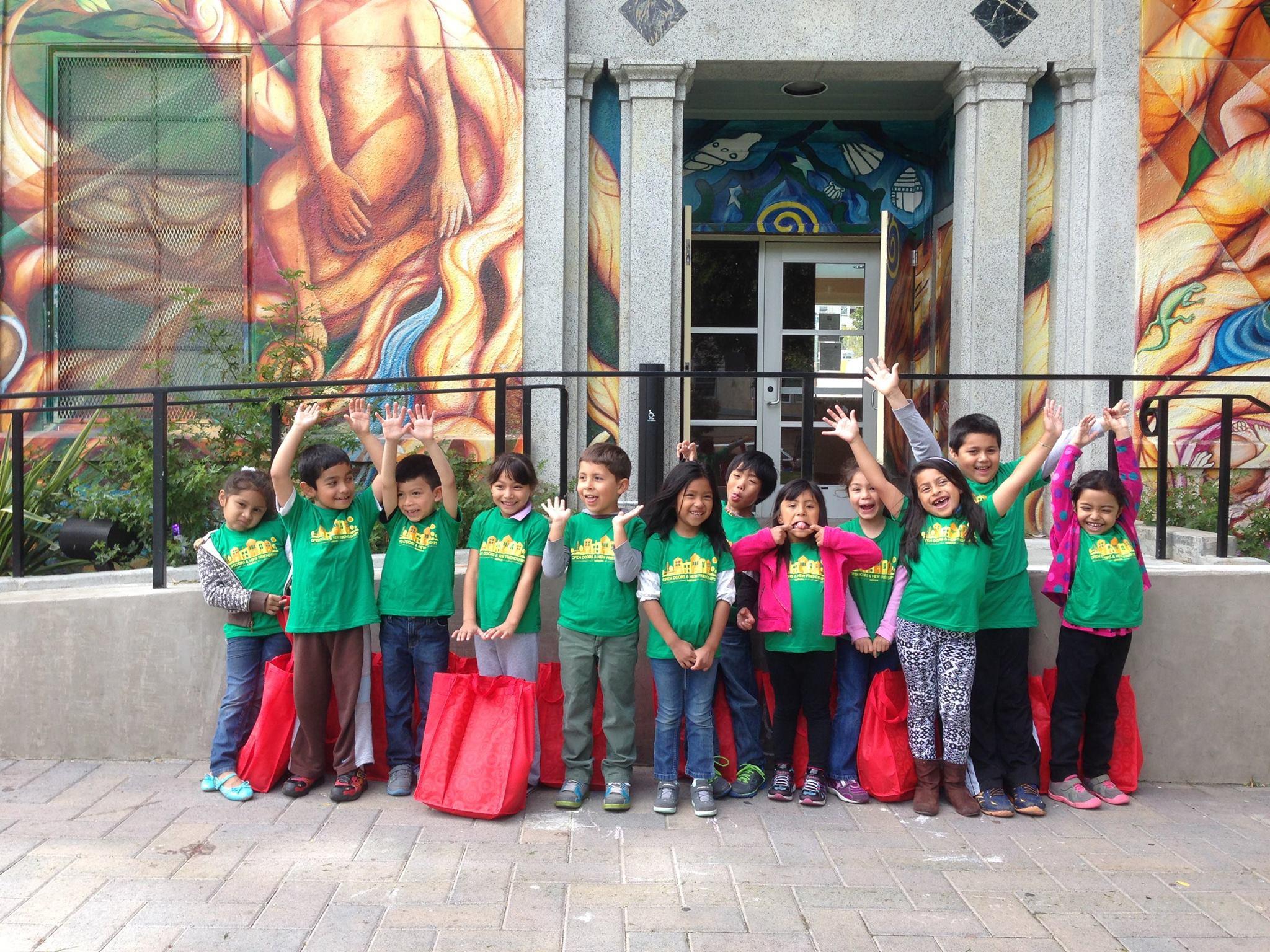 Horizons at SFFS' first kindergarten class, Summer 2014