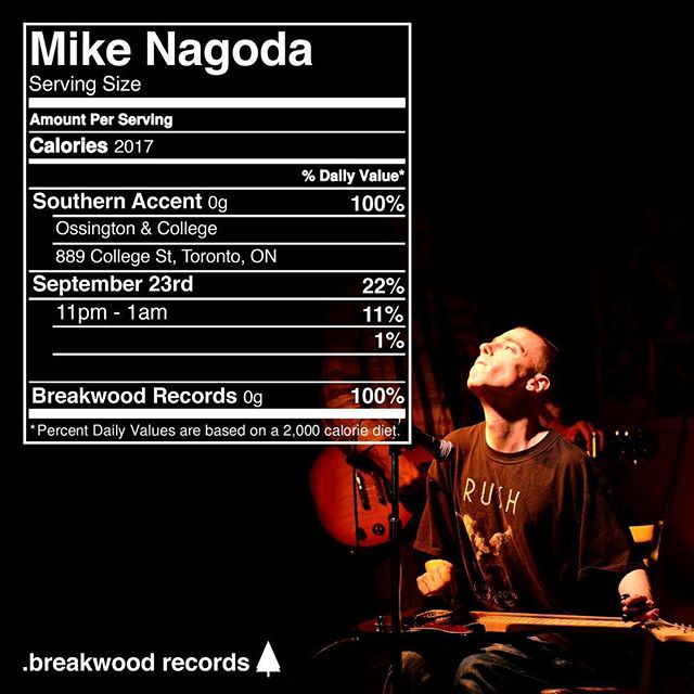 Come see Mike Nagoda live at Southern Accent on Sept 21st at 11pm.