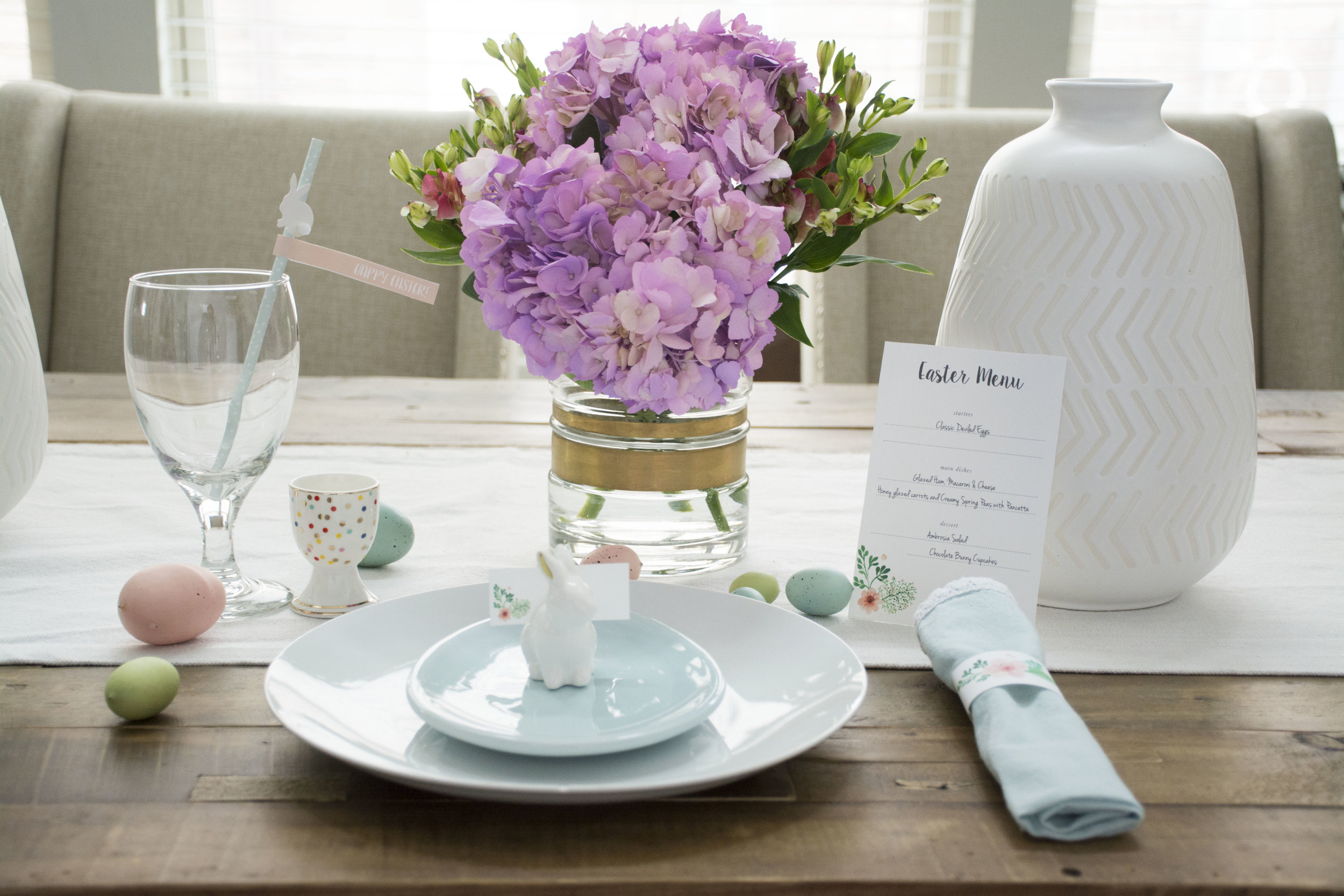 Easter Table Scape Printable
