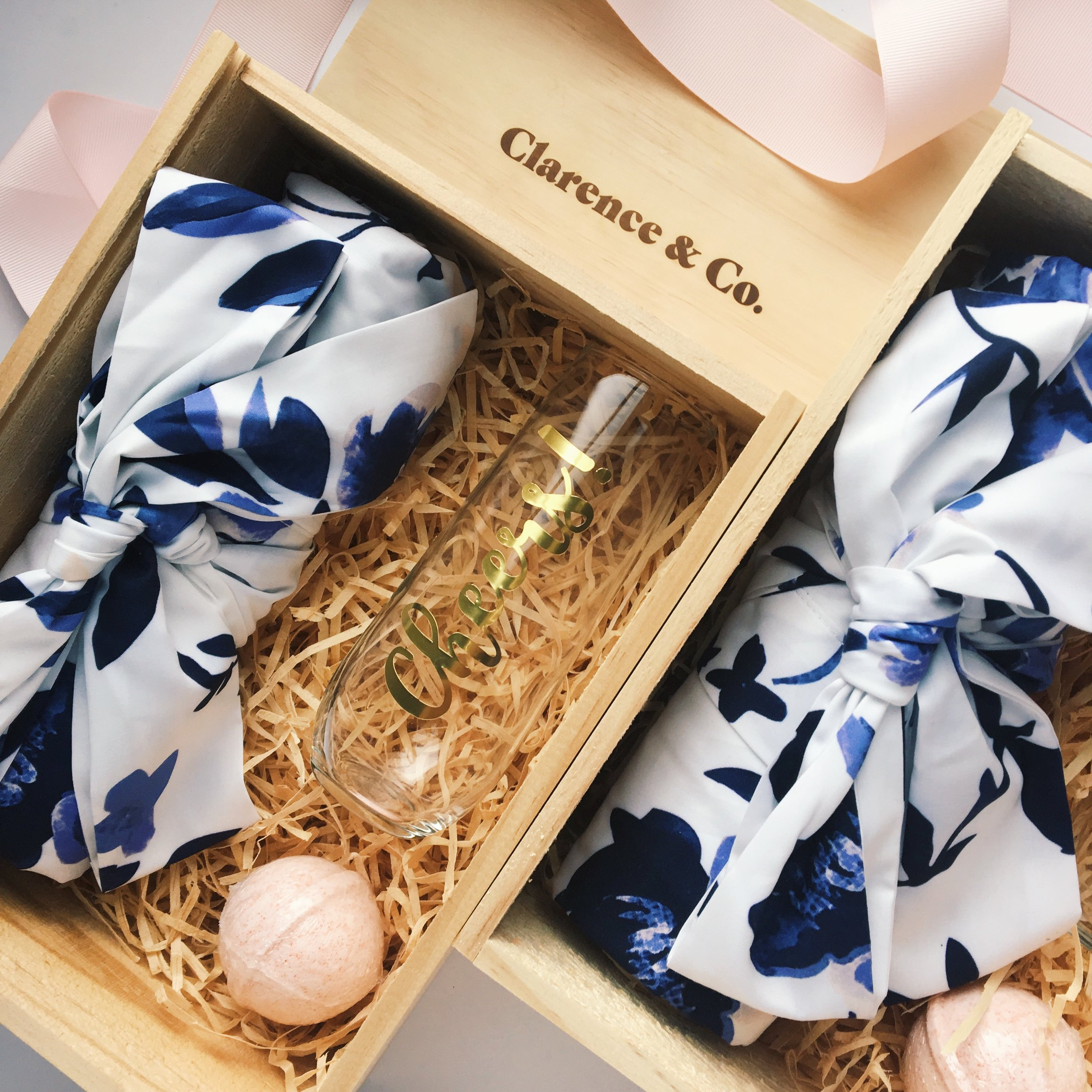 Custom bridesmaid gift boxes NZ